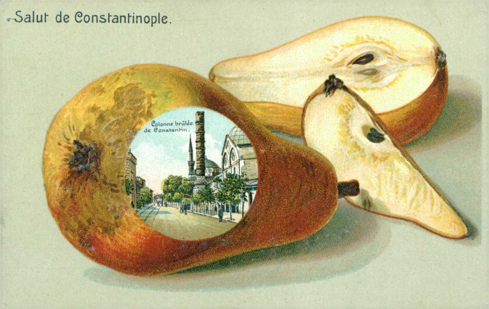 Colonne brûlée de Constantin.