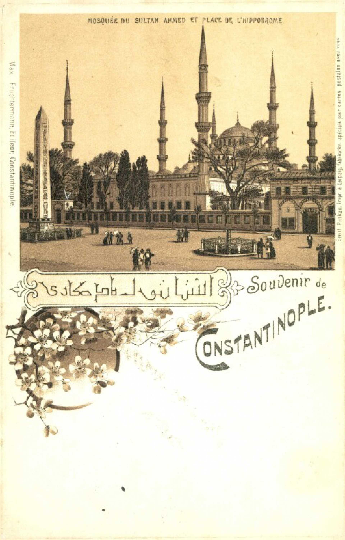 Mosquée du Sultan Ahmed et place de L'Hippodrome