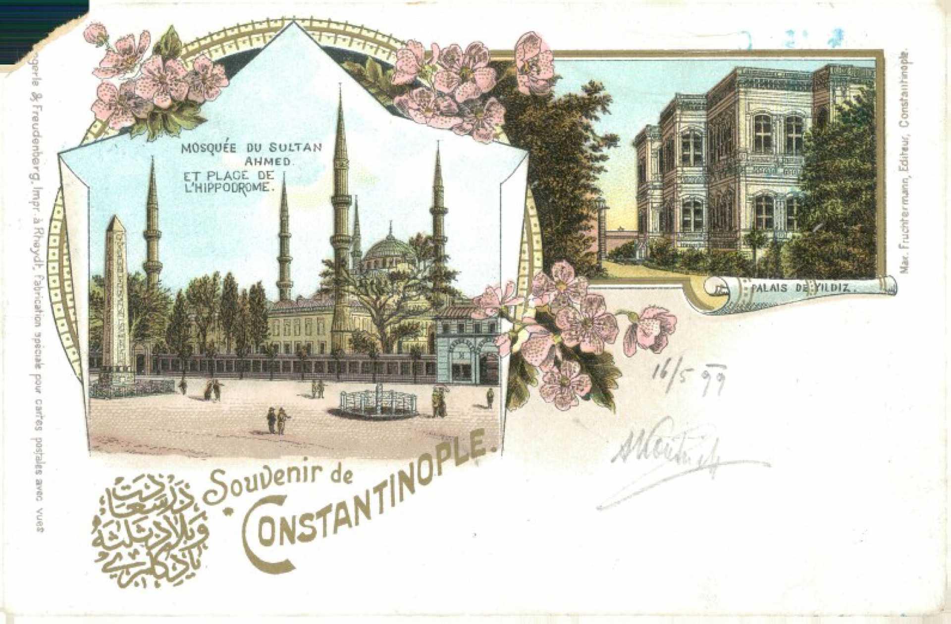 Mosquée du Sultan Ahmed et place de L'Hippodrome. Palais de Yıldız