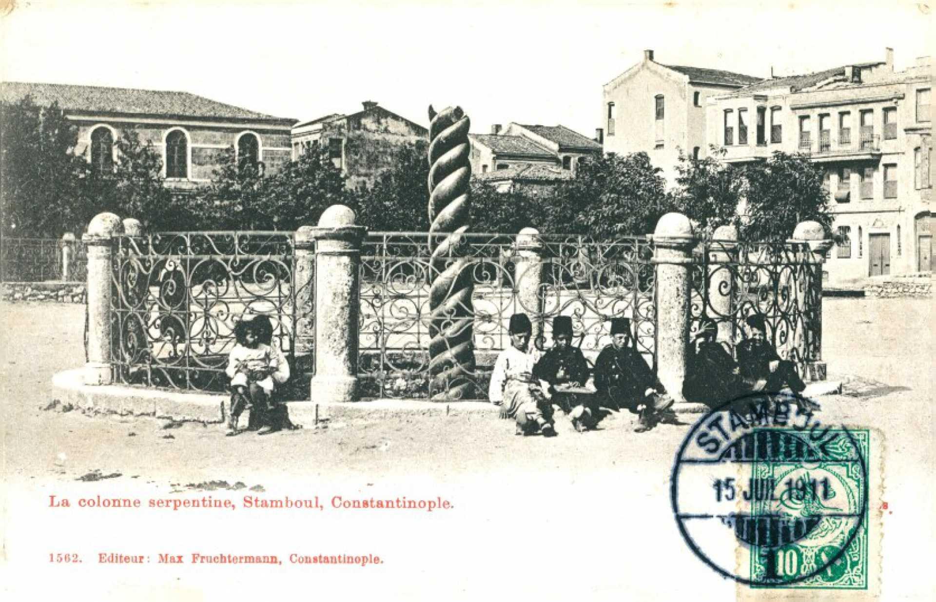 La colonne serpentine. Stamboul