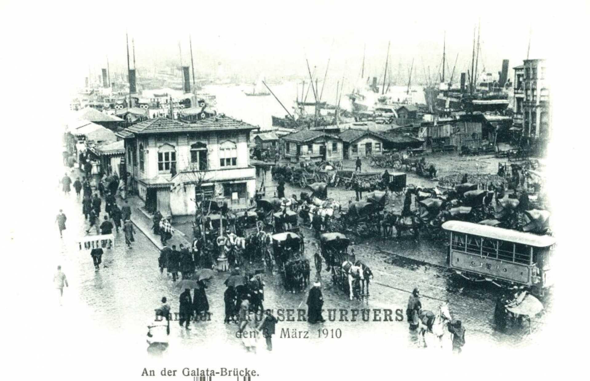 Galata Limanı ve köprüsü