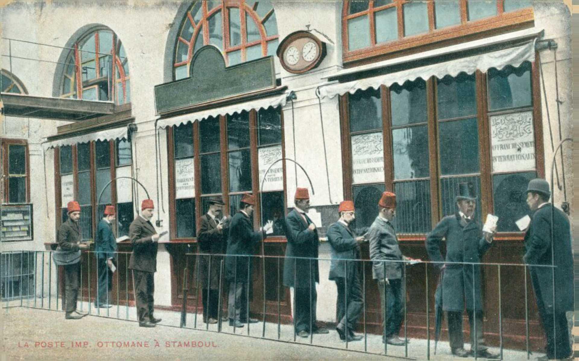 La poste Imp. Ottomane a Stamboul