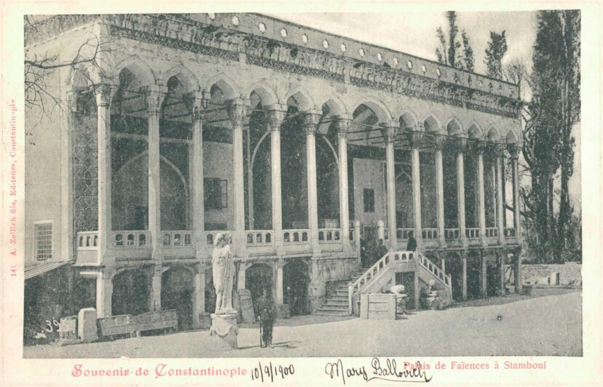 Palais de Faiences a Stamboul