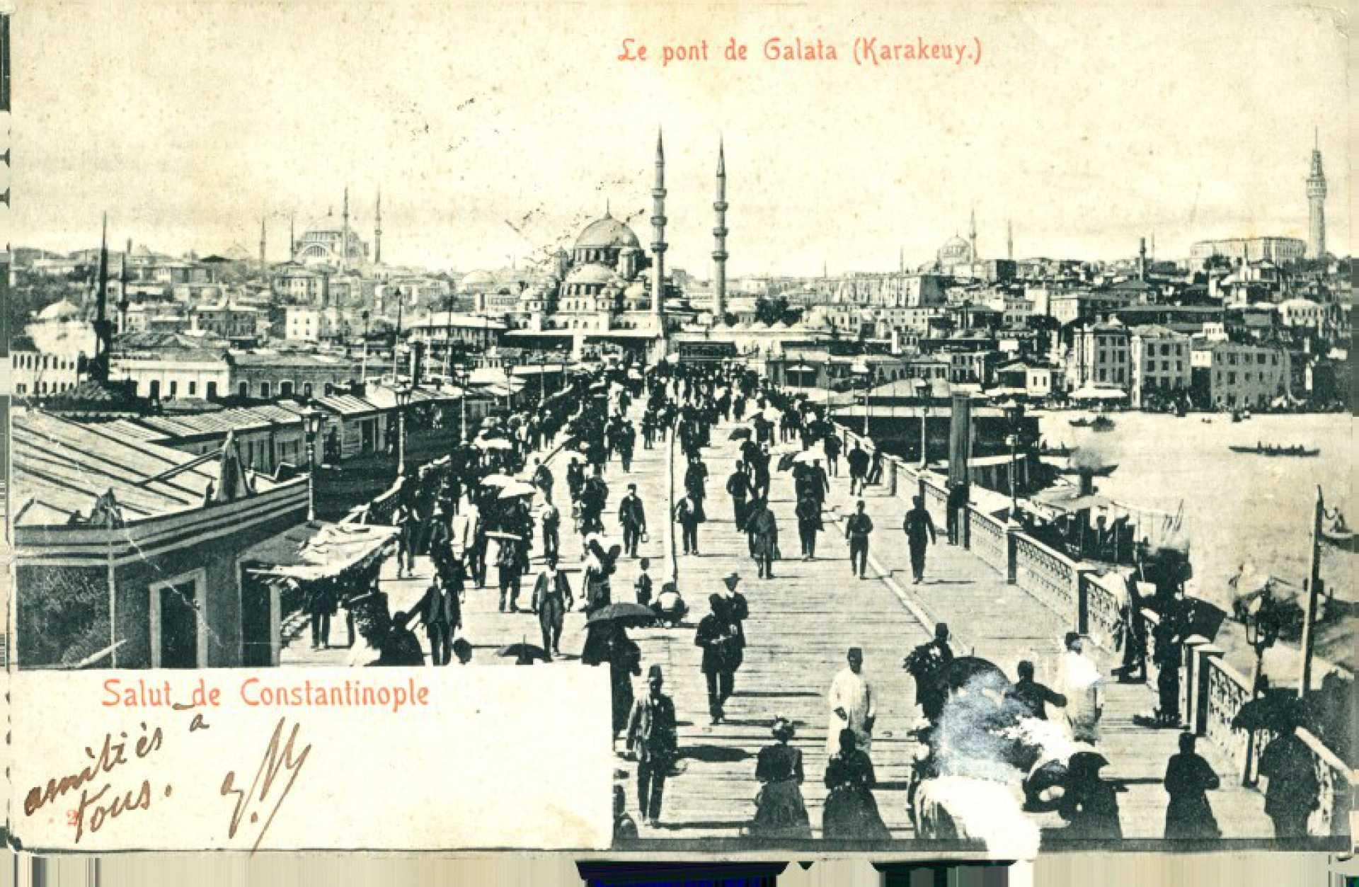 Le pont de Galata