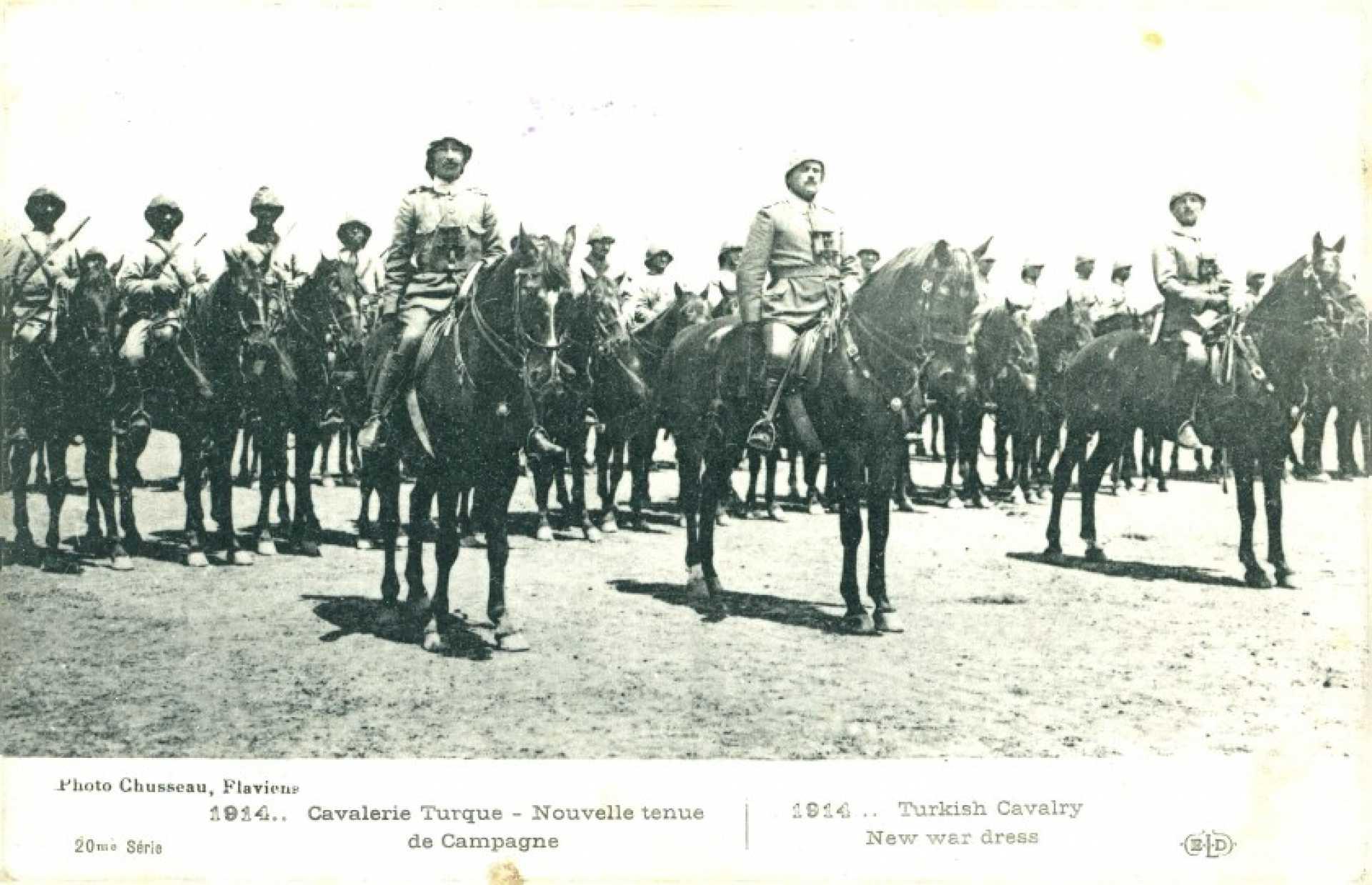 1914… Cavalerie Turque – Nouvelle tenue de Campagne