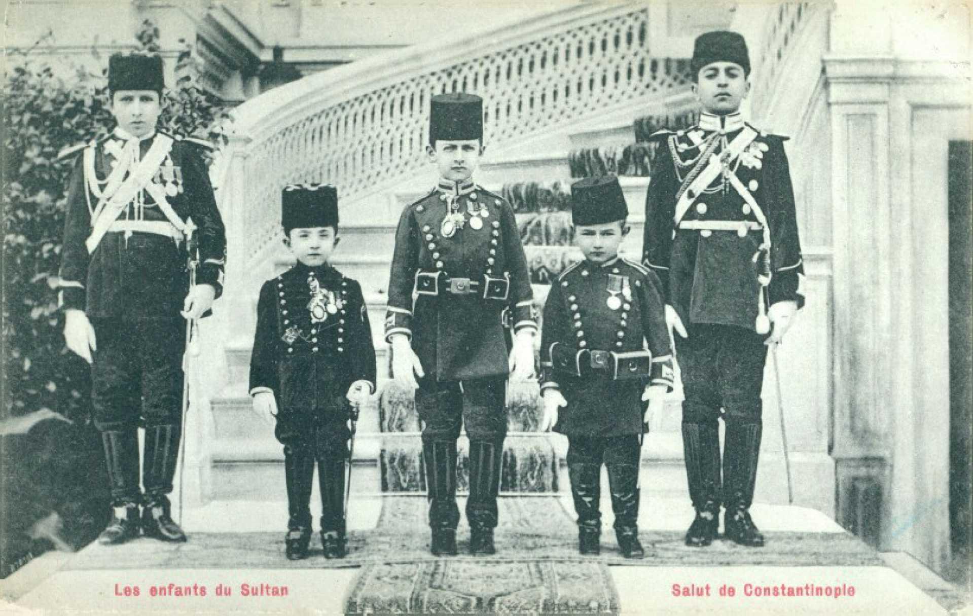 Les enfants du Sultan