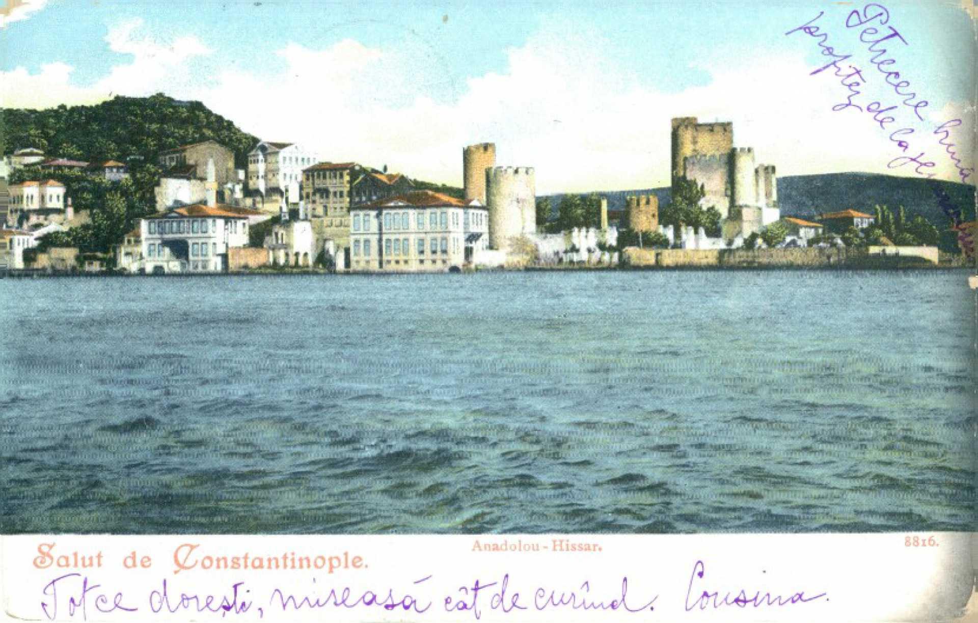 Salut de Constantinople. Anadolu-Hissar