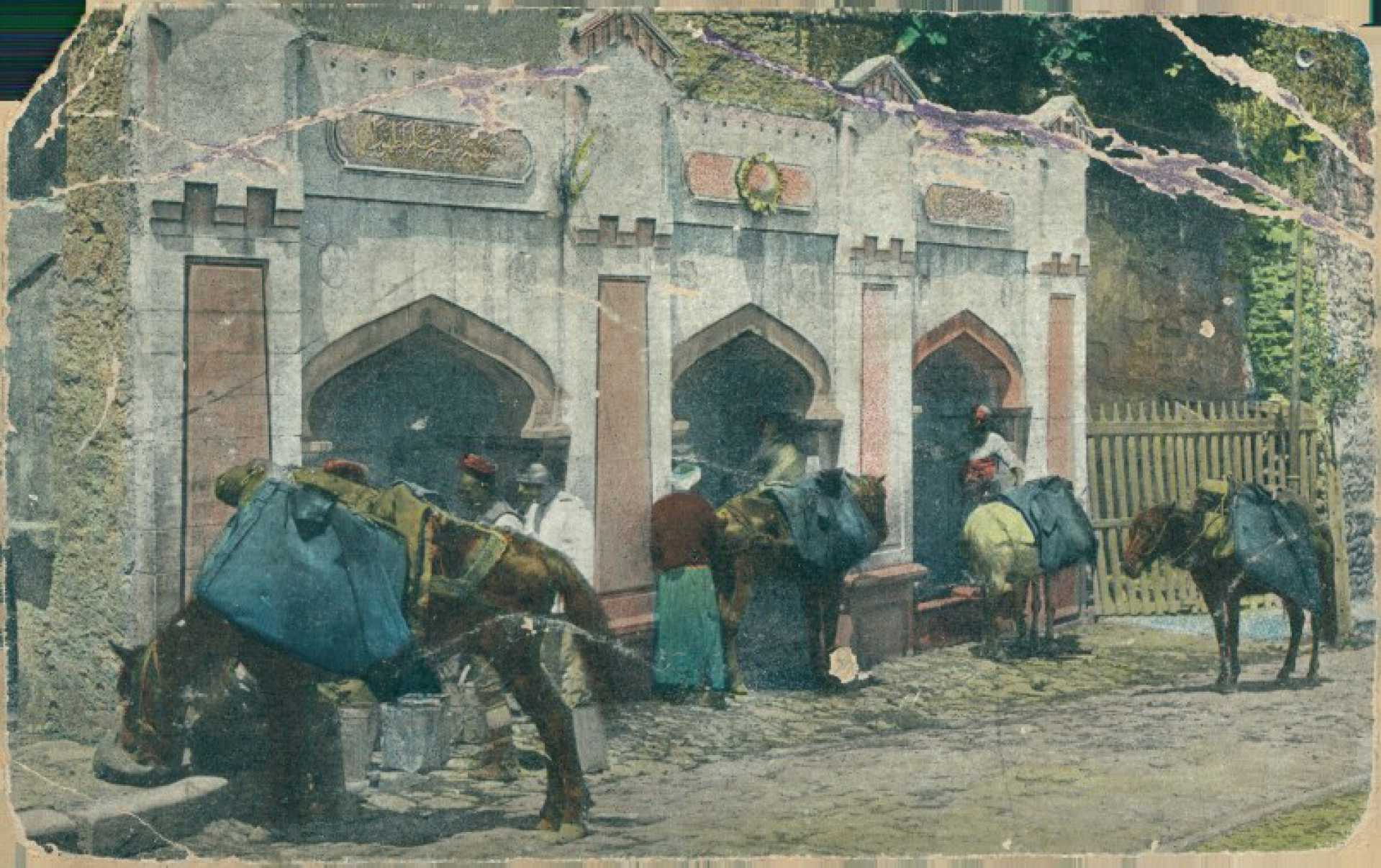 Fontaine de la Sultane Zeineb a Stamboul