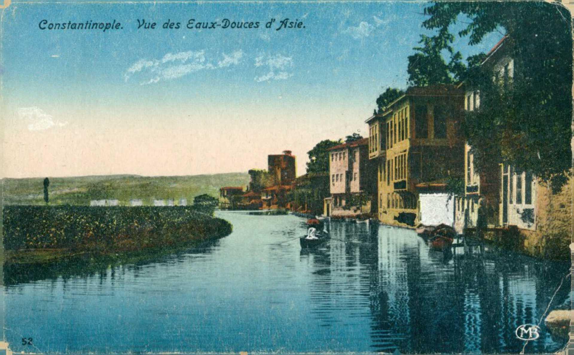 Constantinople. Vue des Eaux-Douces d'Asie