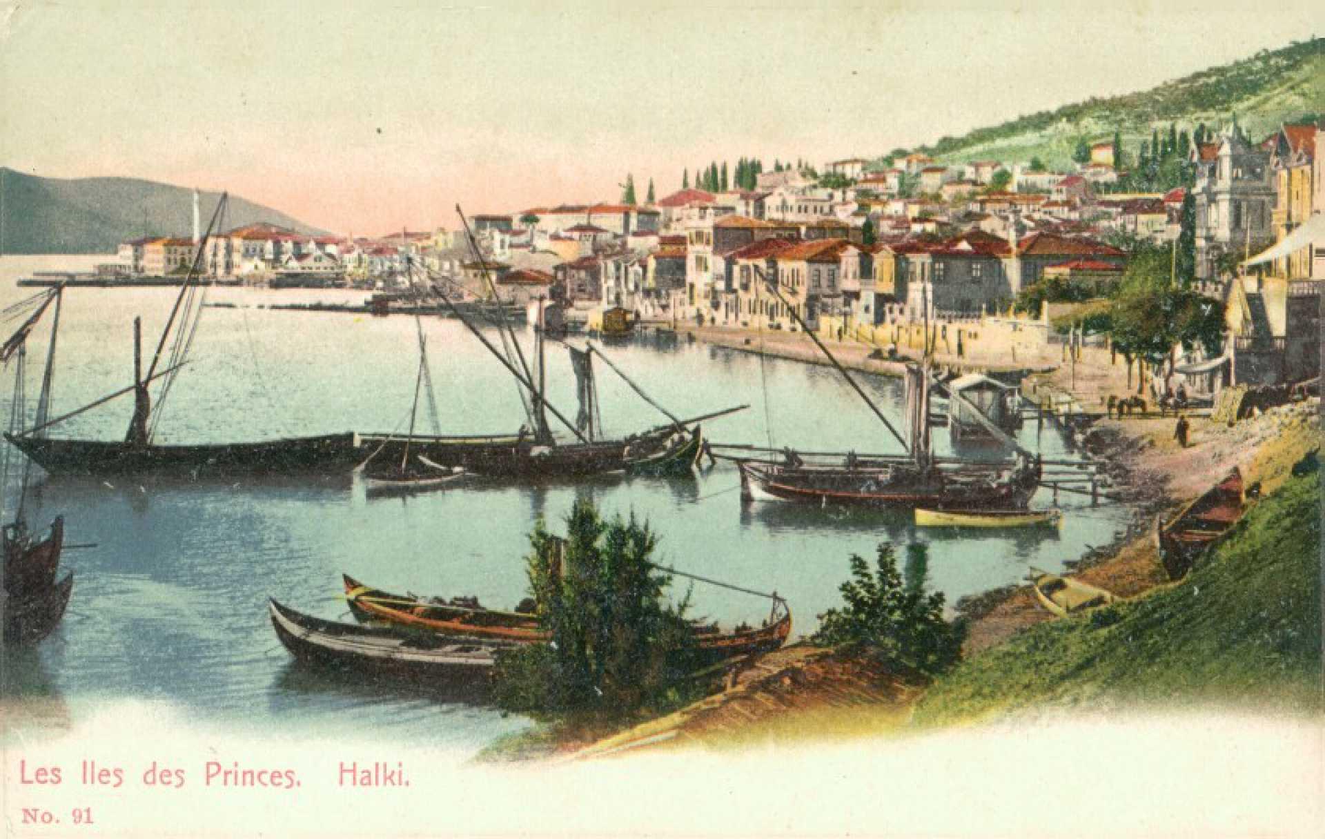 Les Iles des Princes. Halki No. 91