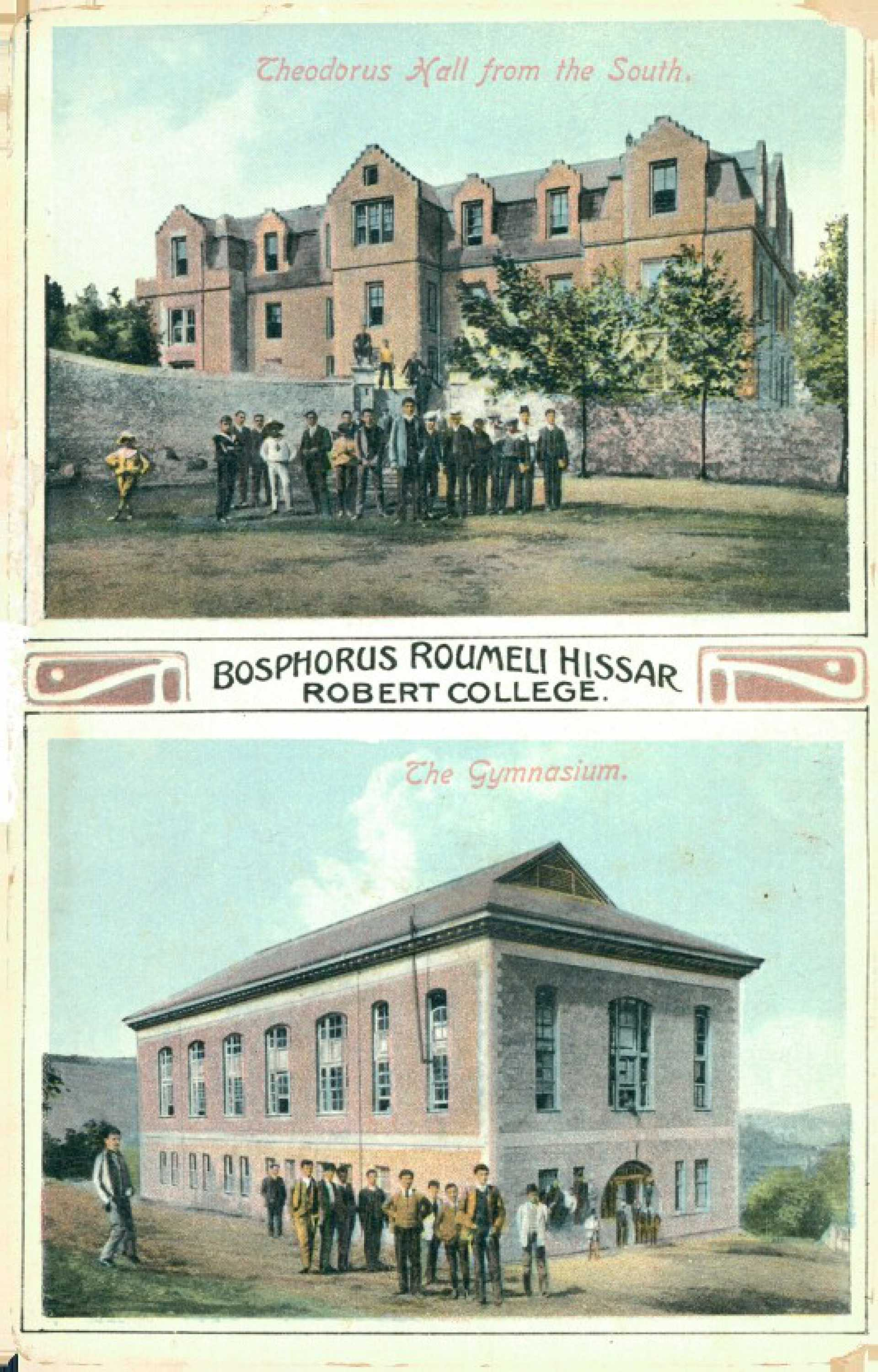Bosphorus Roumeli Hissar Robert College.