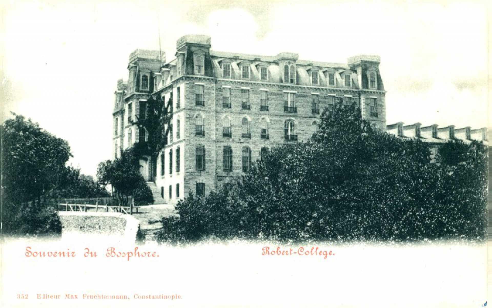 Souvenir du Boshore. Robert-College