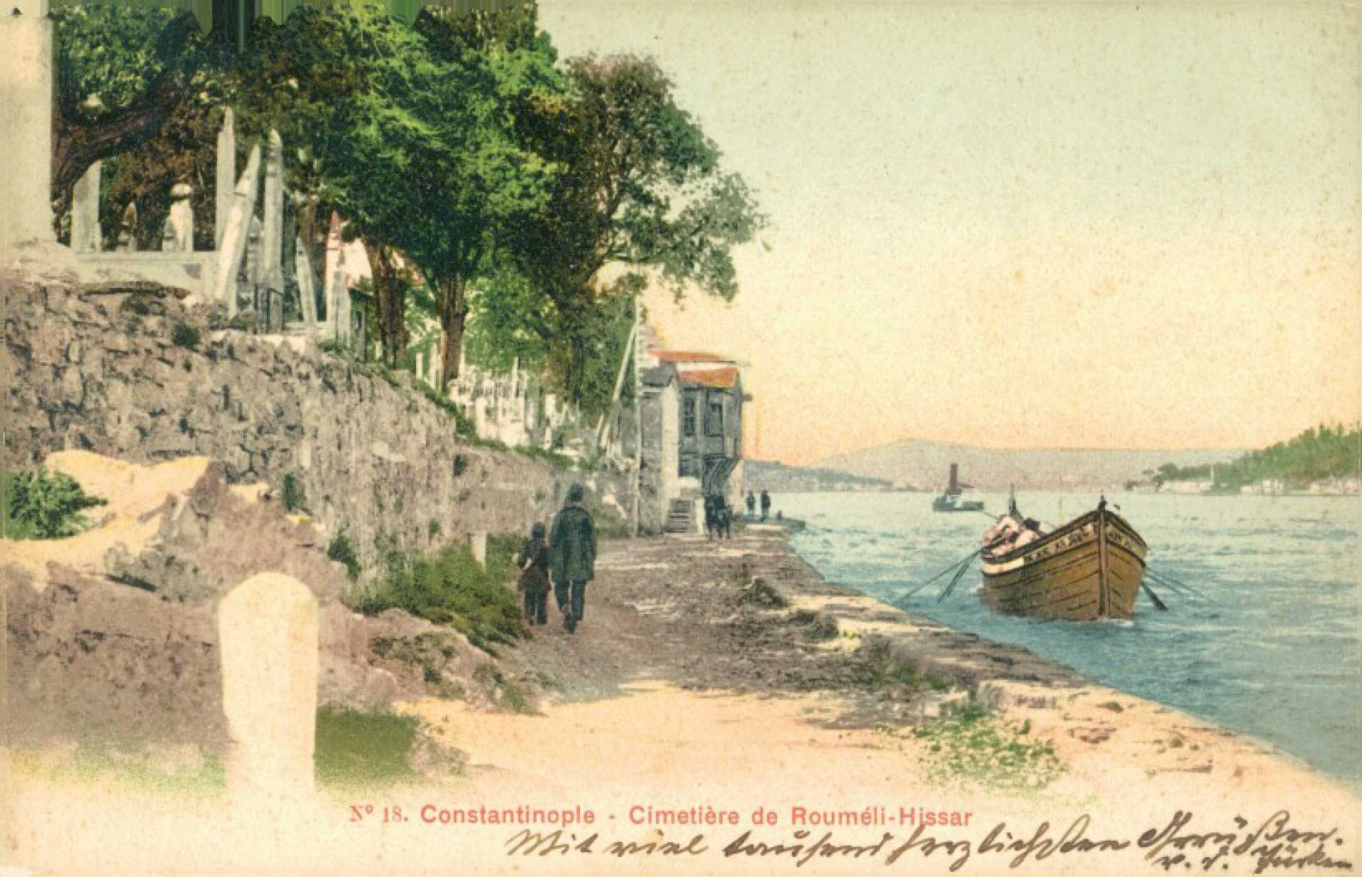 Constantinople – Cimetiere de Roumeli – Hissar