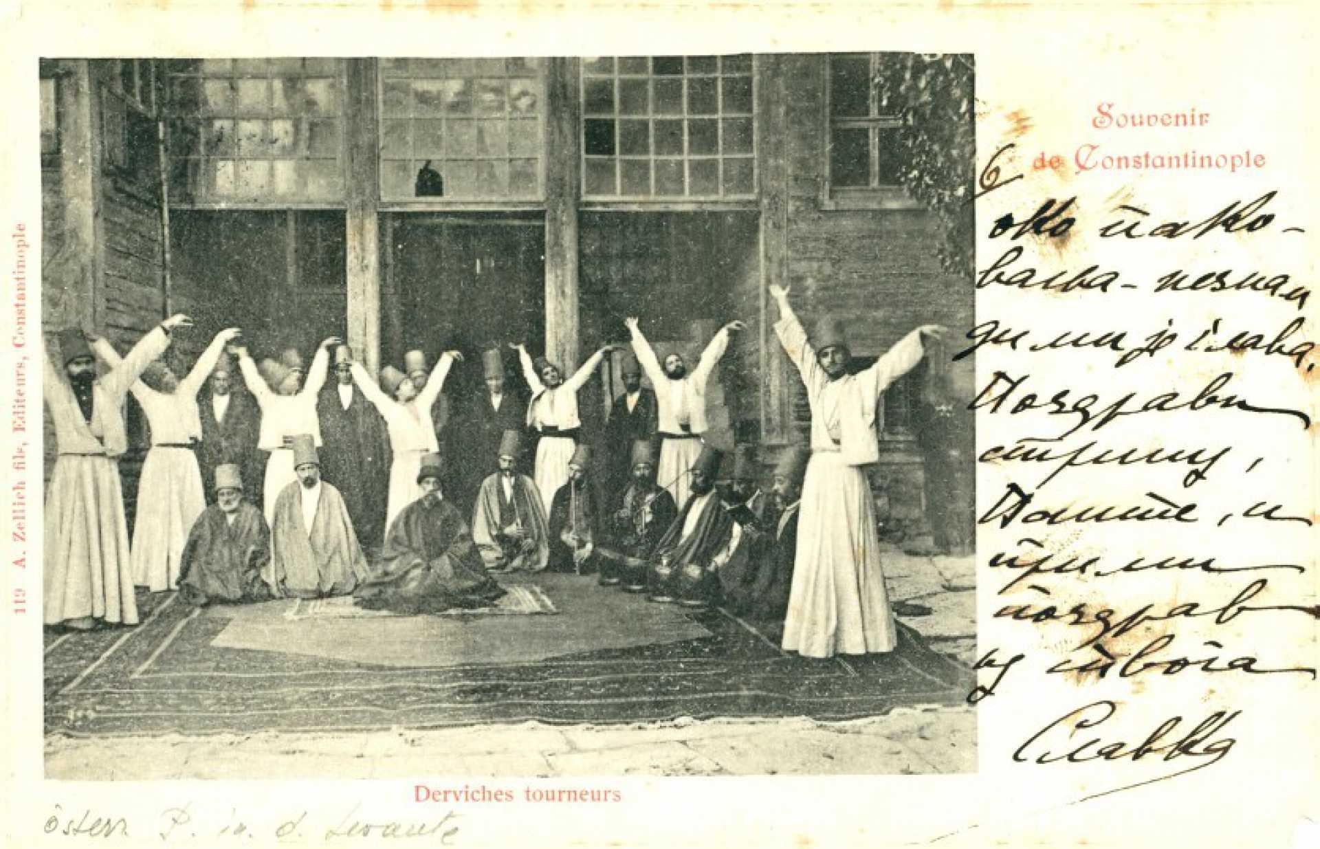 Souvenir de Constantinople. Derviches tourneurs