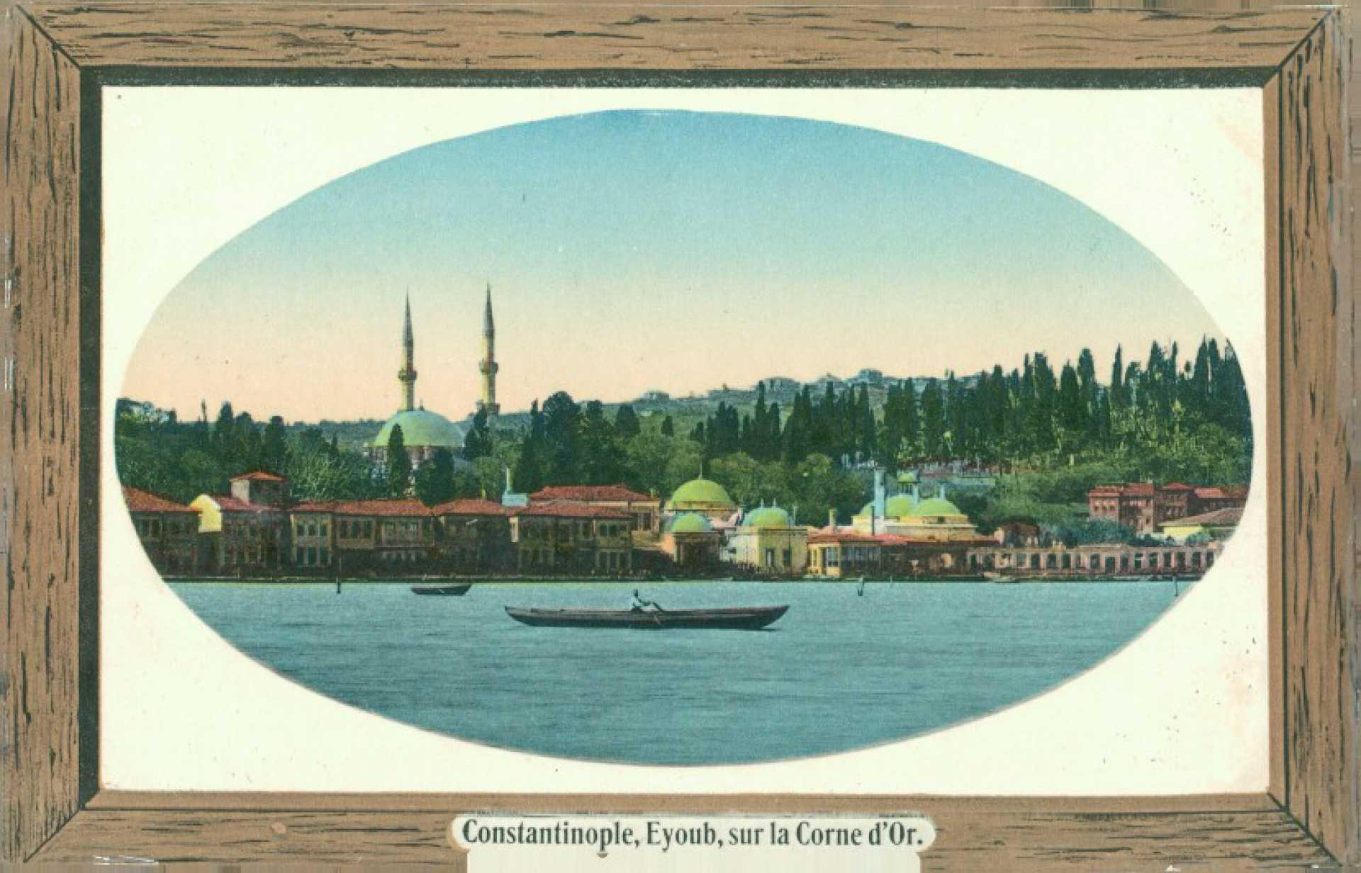 Constantinople. Eyoub. sur la Corne d'Or