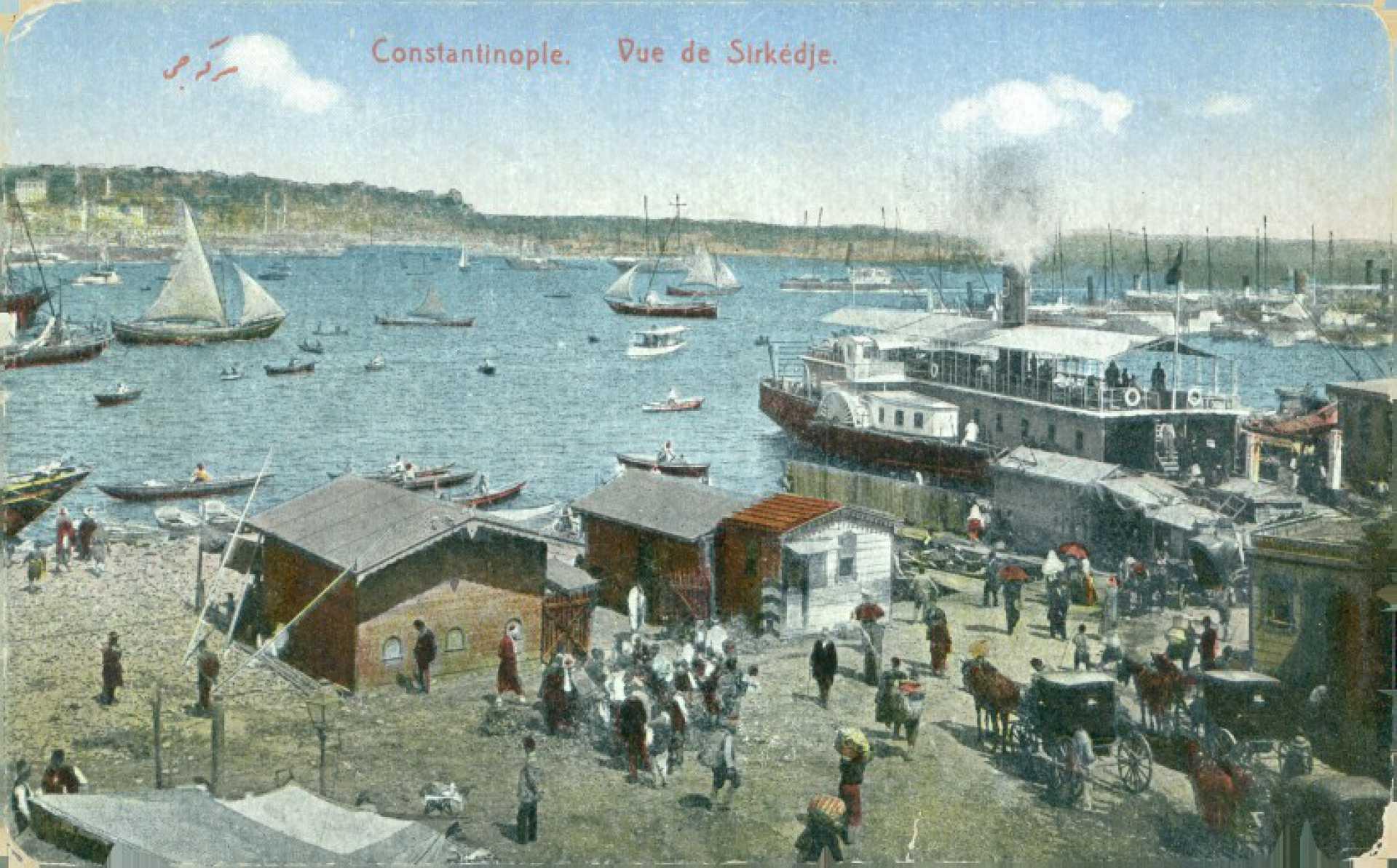 Constantinople. Vue de Sirkedje