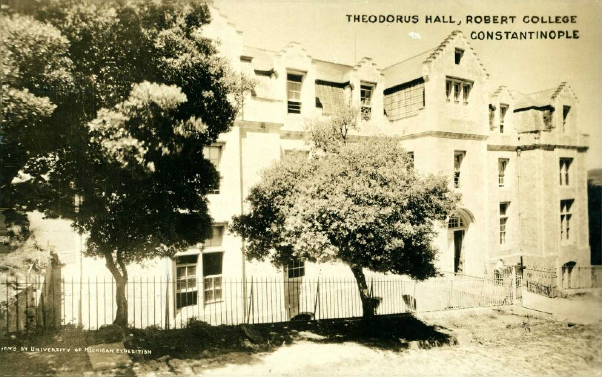 Theodorus Hall. Robert College Constantinople