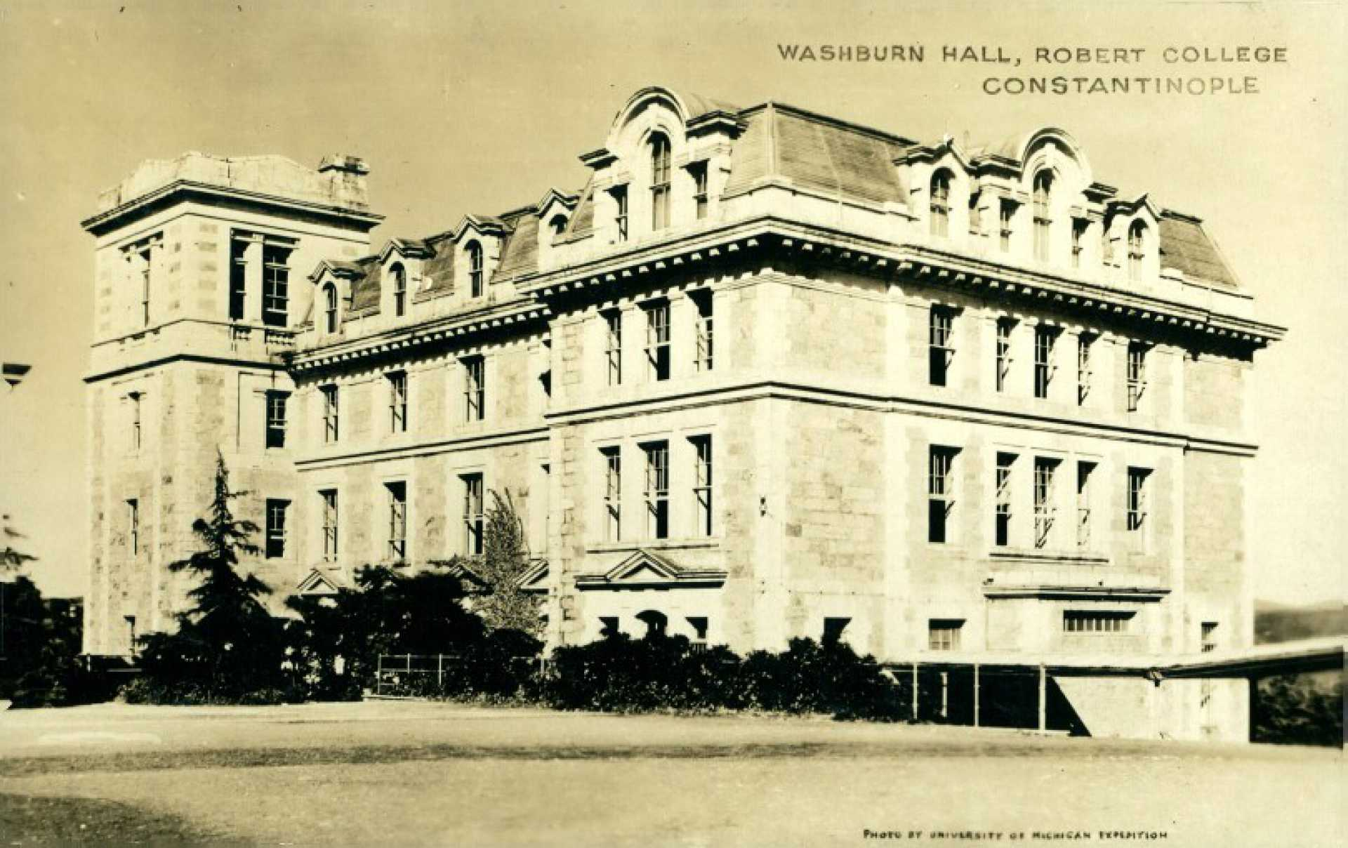 Washburn Hall. Robert College Constantinople