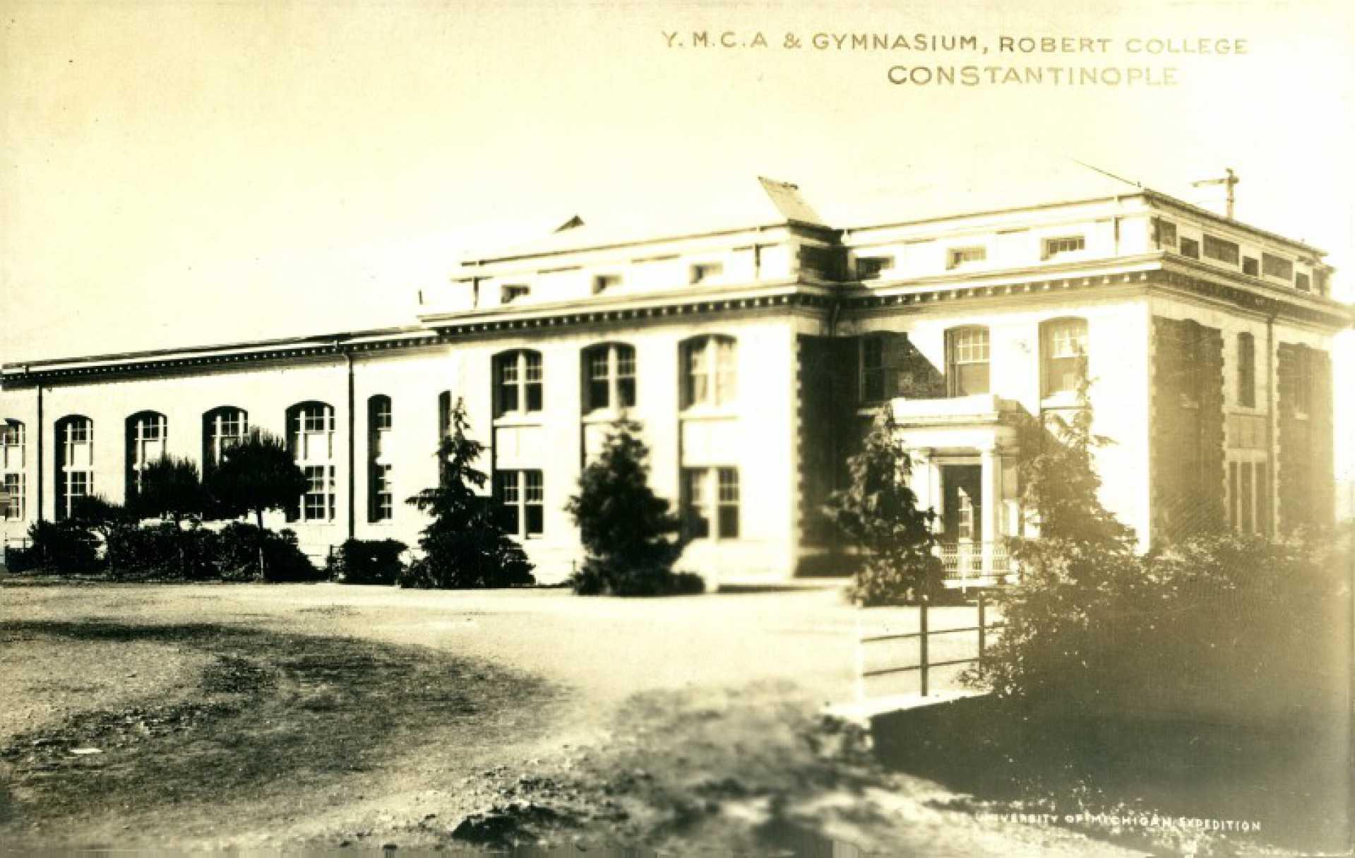 Y.M.C.A. & Gymnasium. Robert College Constantinople