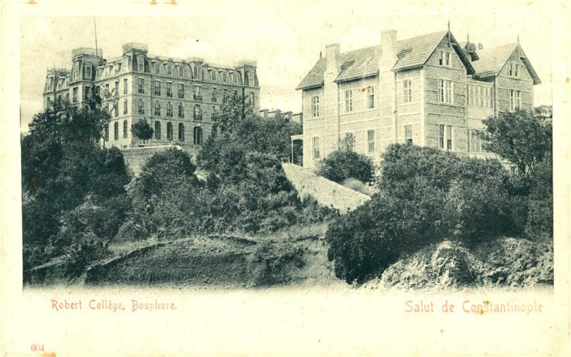Salut de Constantinople  Robert College. Boshore