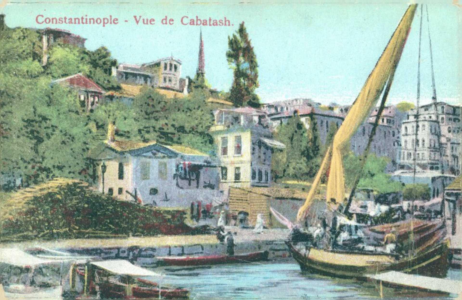 Constantinople- Vue de Cabatash