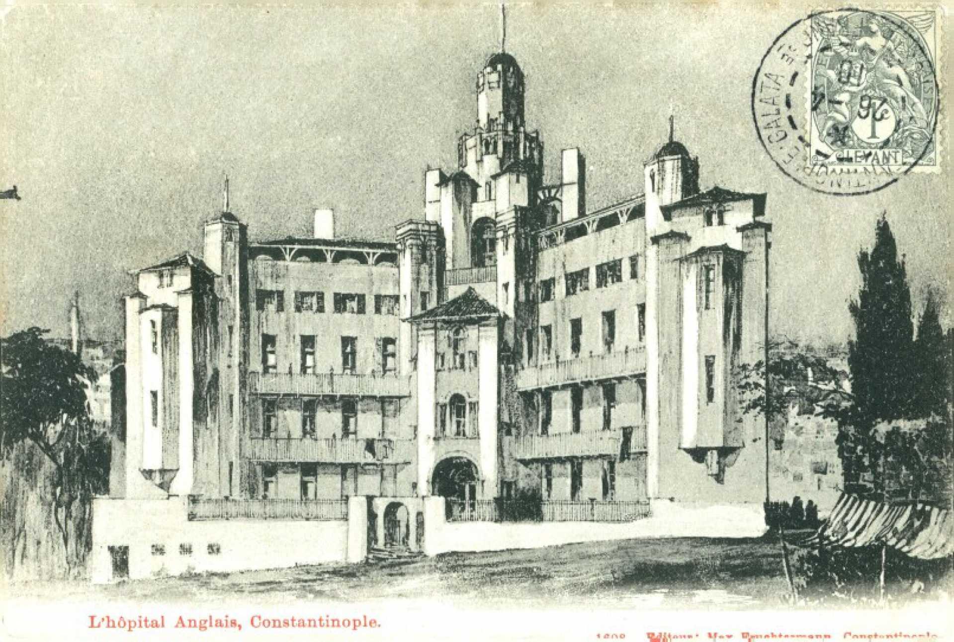 L'hopital Anglais. Constantinople