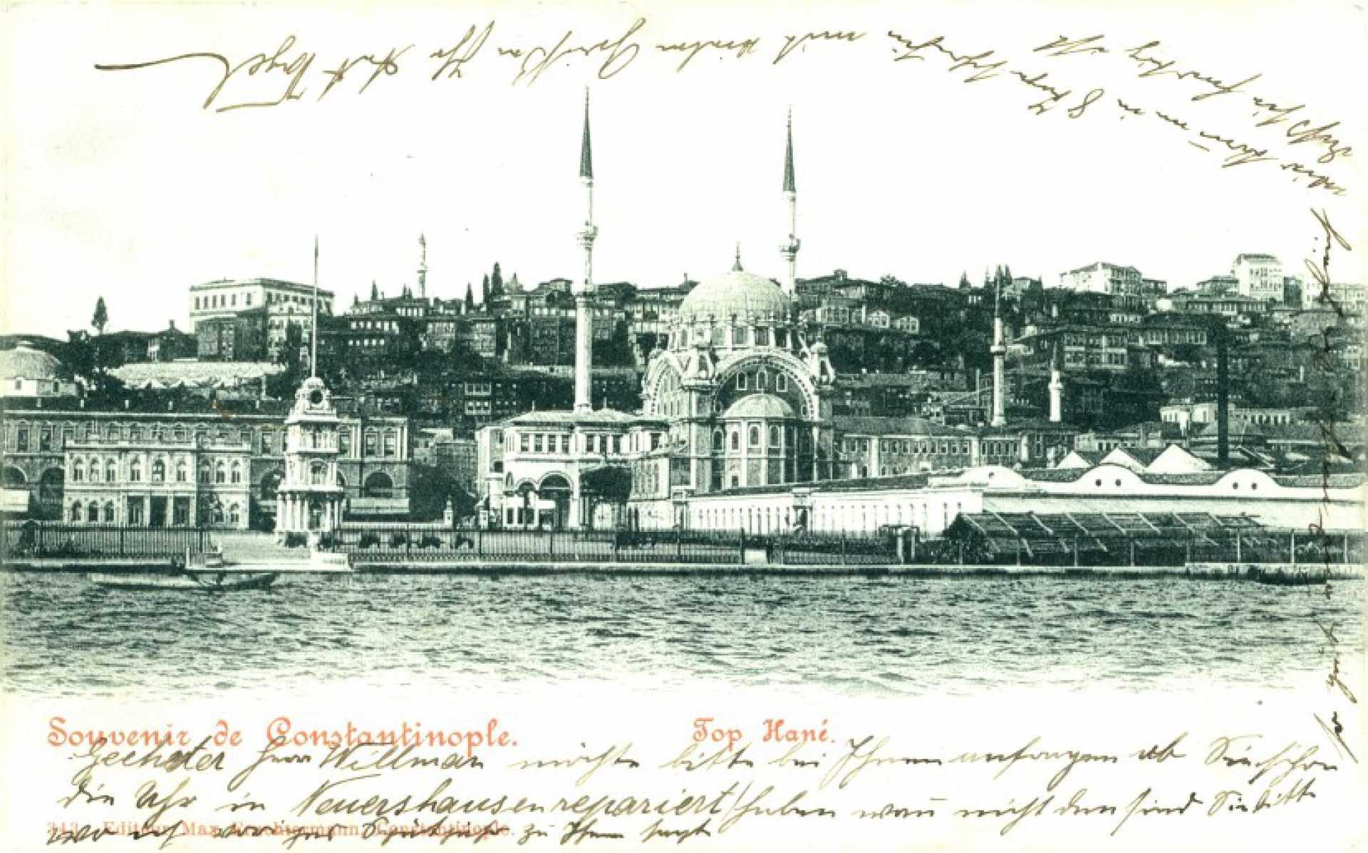 Souvenir de Constantinople. Top Hane