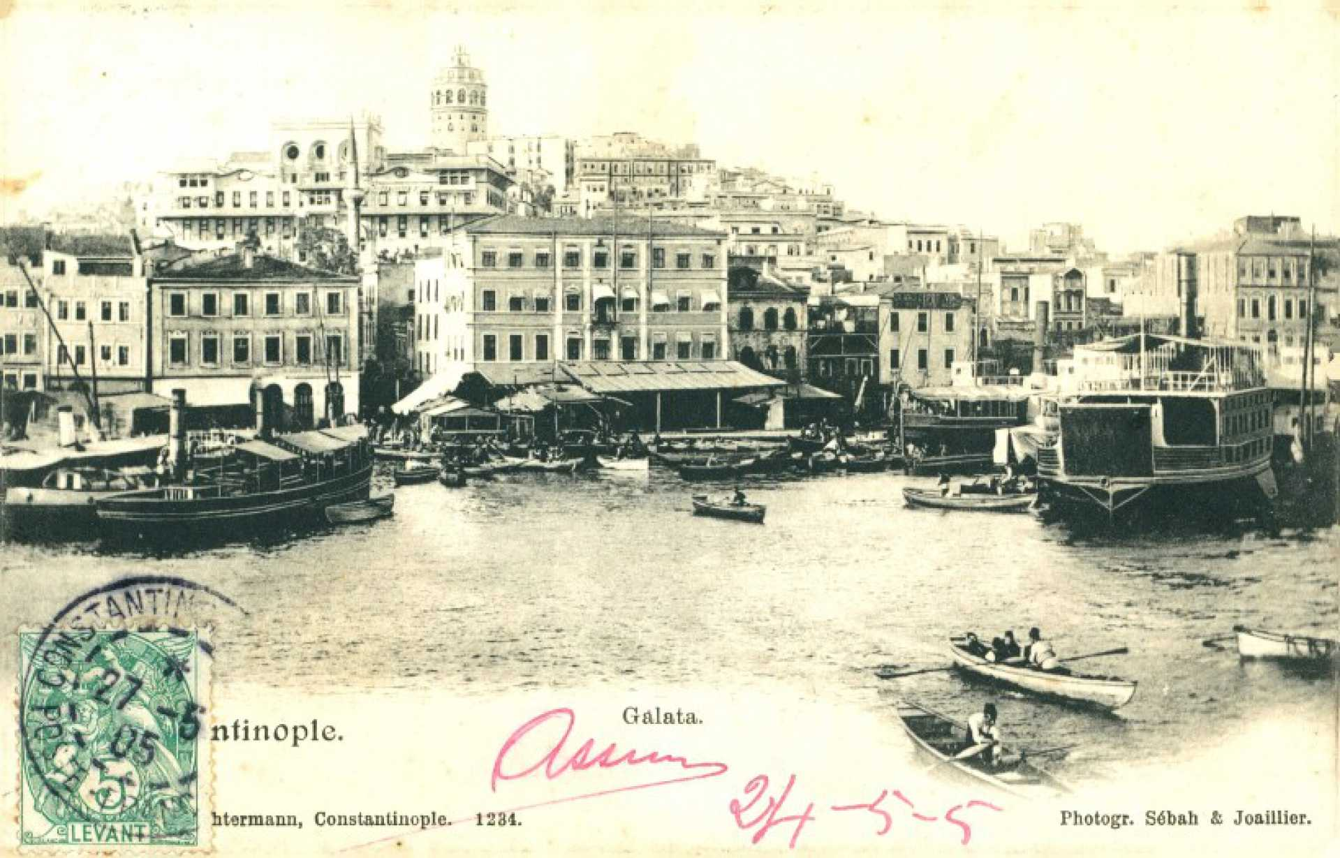 Constantinople. Galata