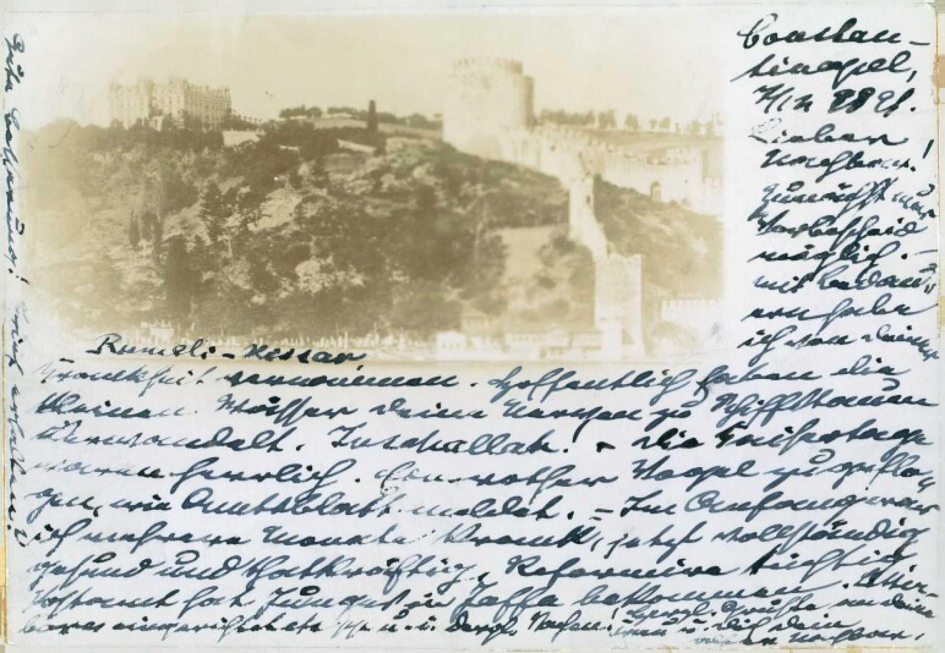 Roumeli Hissar. Bosphore. Constantinople