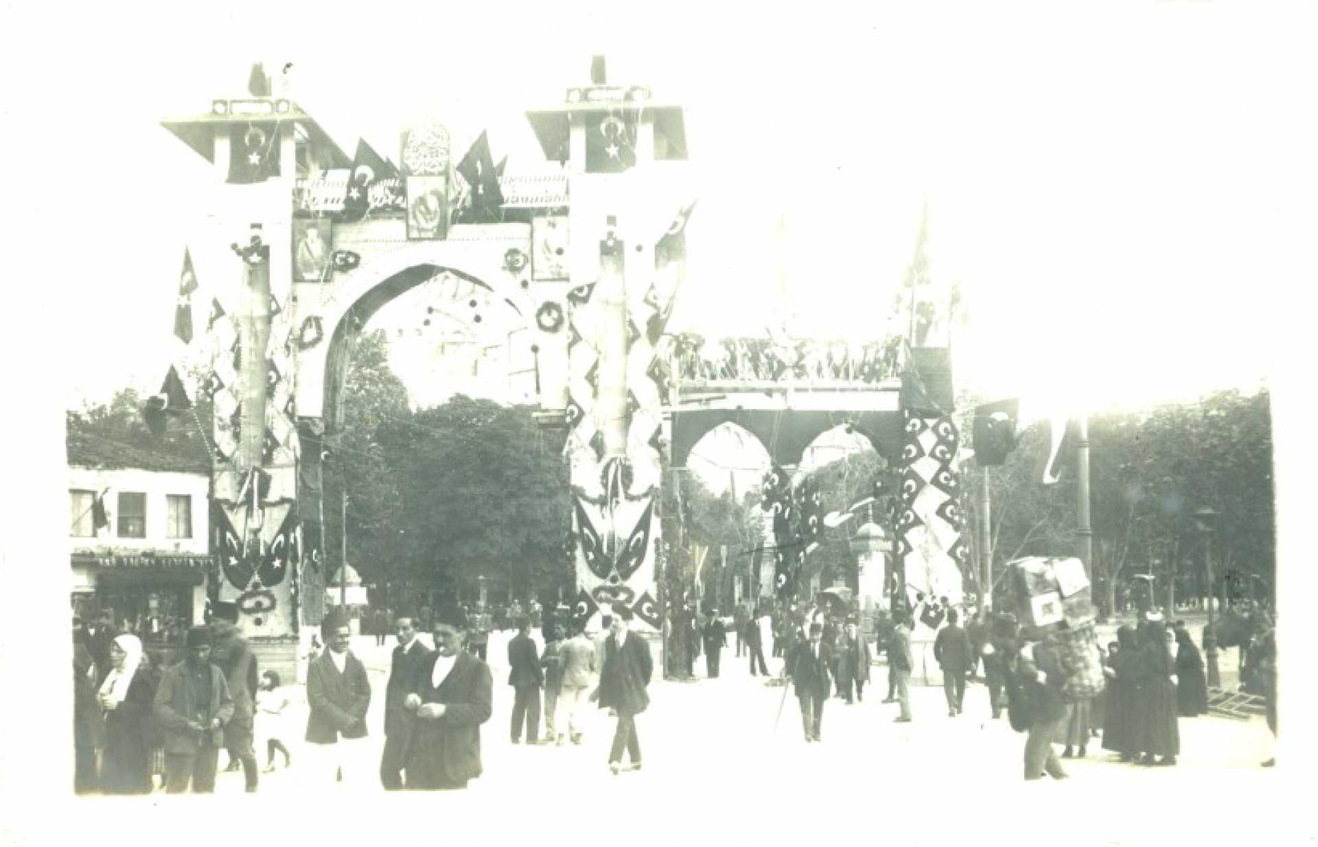 Kemal Pasha's entry into Constantinople