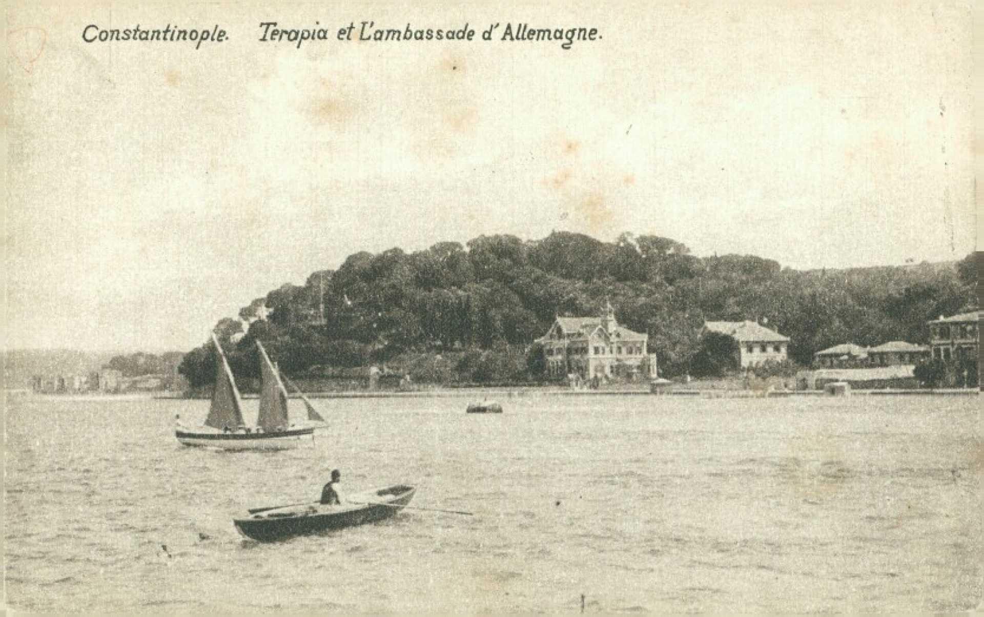 Constantinople. Terapia et L'ambassade d'allemagne
