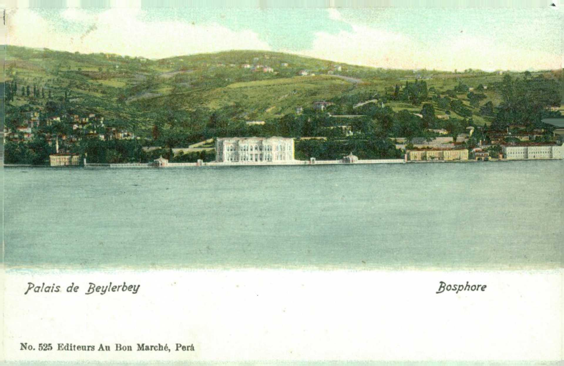 Palais de Beylerbey Bosphore