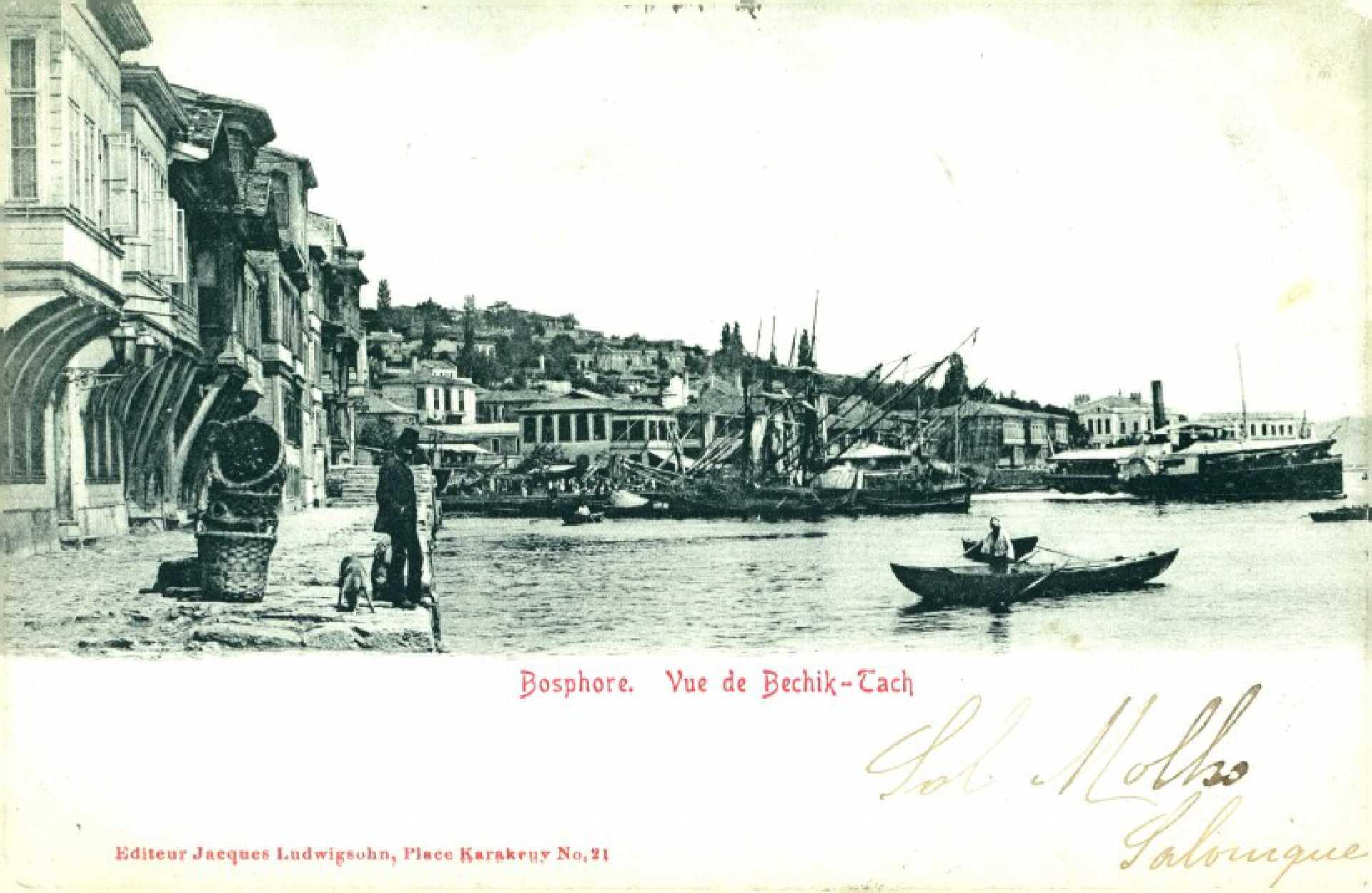 Bosphore. Vue de Bechik-Tach