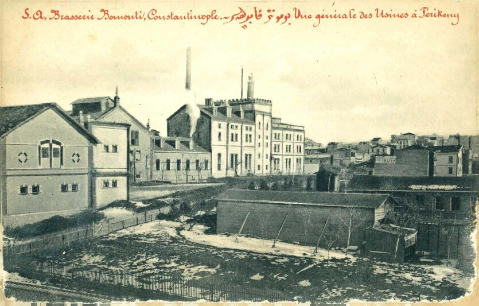 S.O. Brasserie Bomonti. Constantinople.