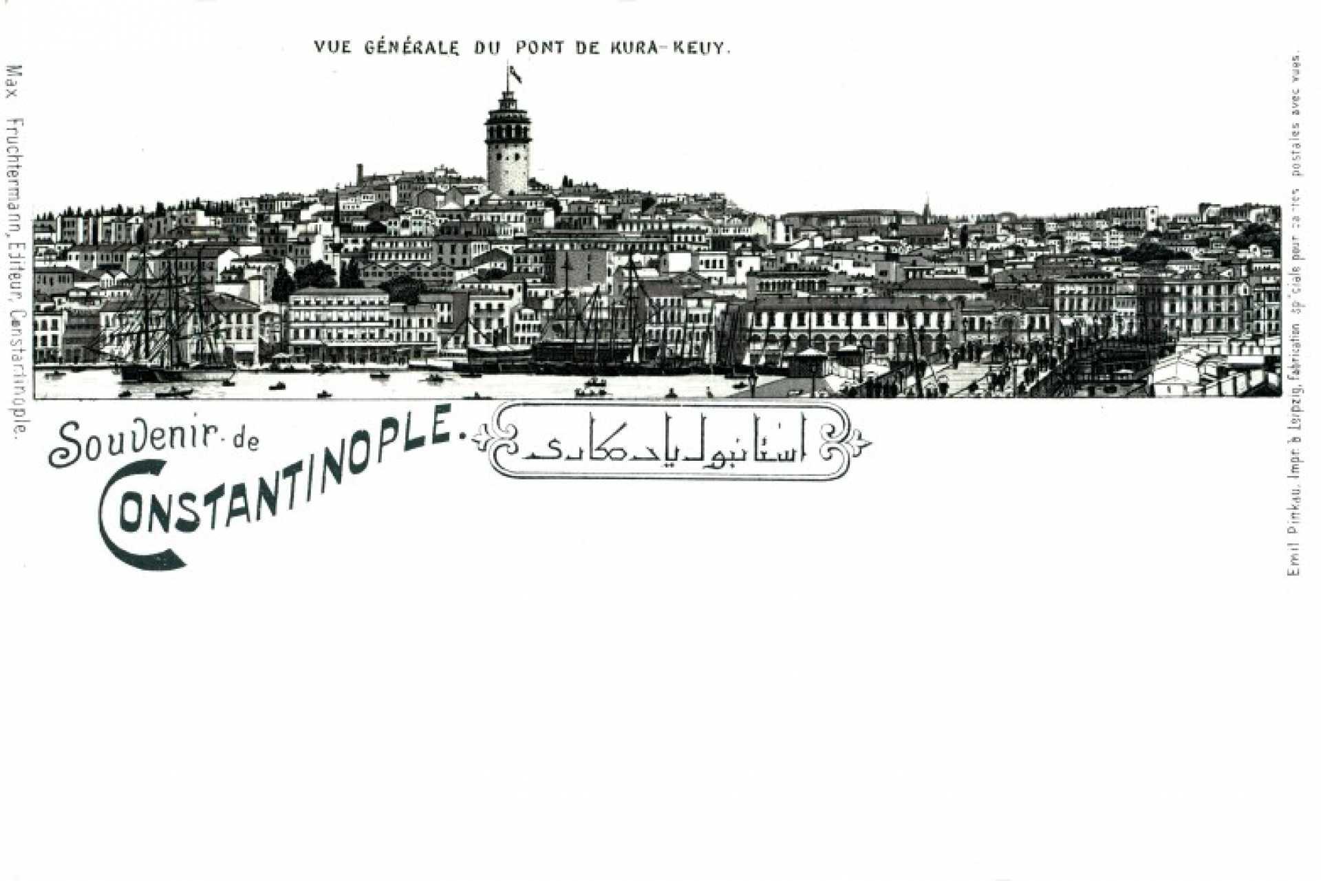 Souvenir de Constantinople. Vue Generale du point de Kura-keuy