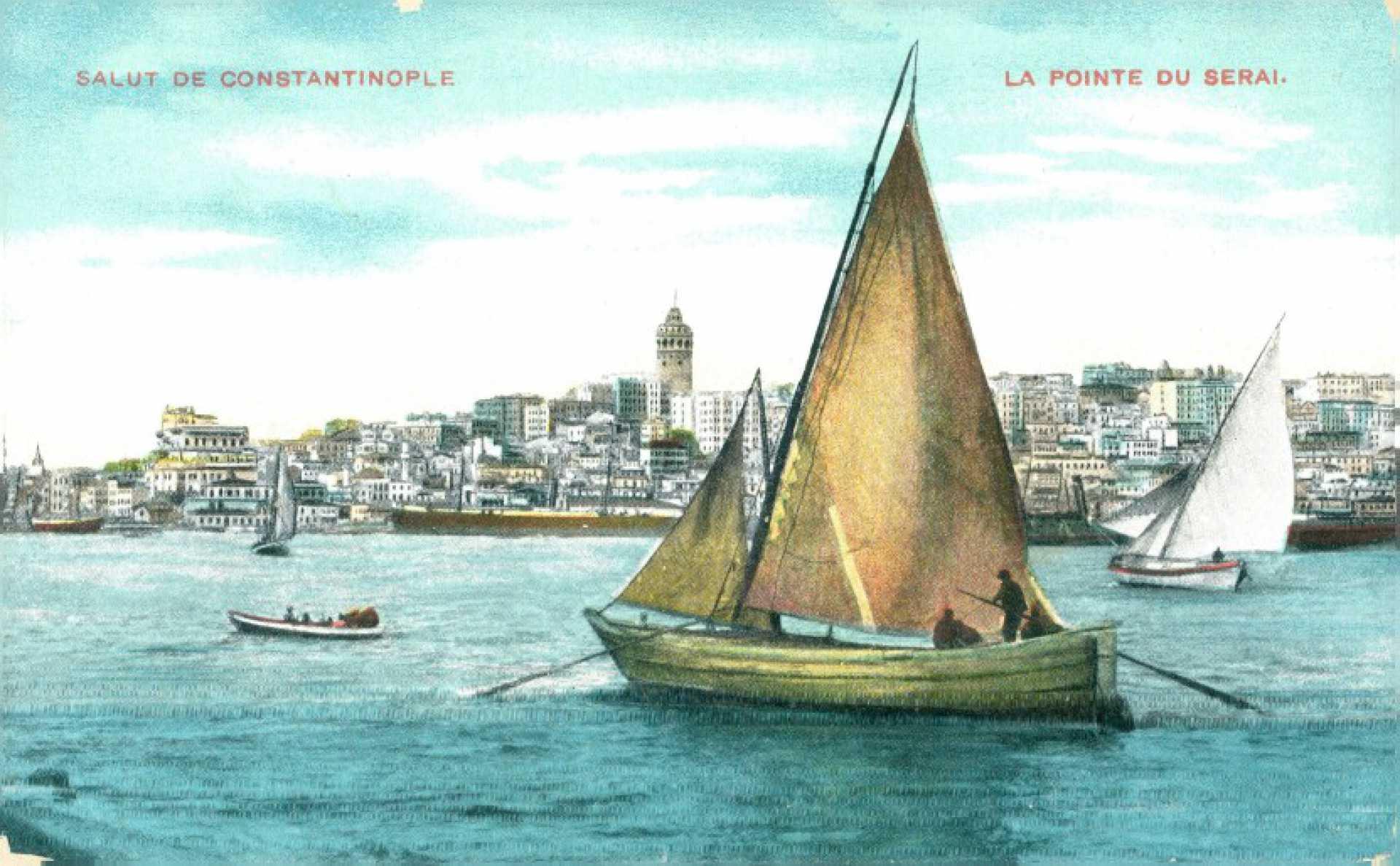 Salut de Constantinople. Le Pointe du Serai
