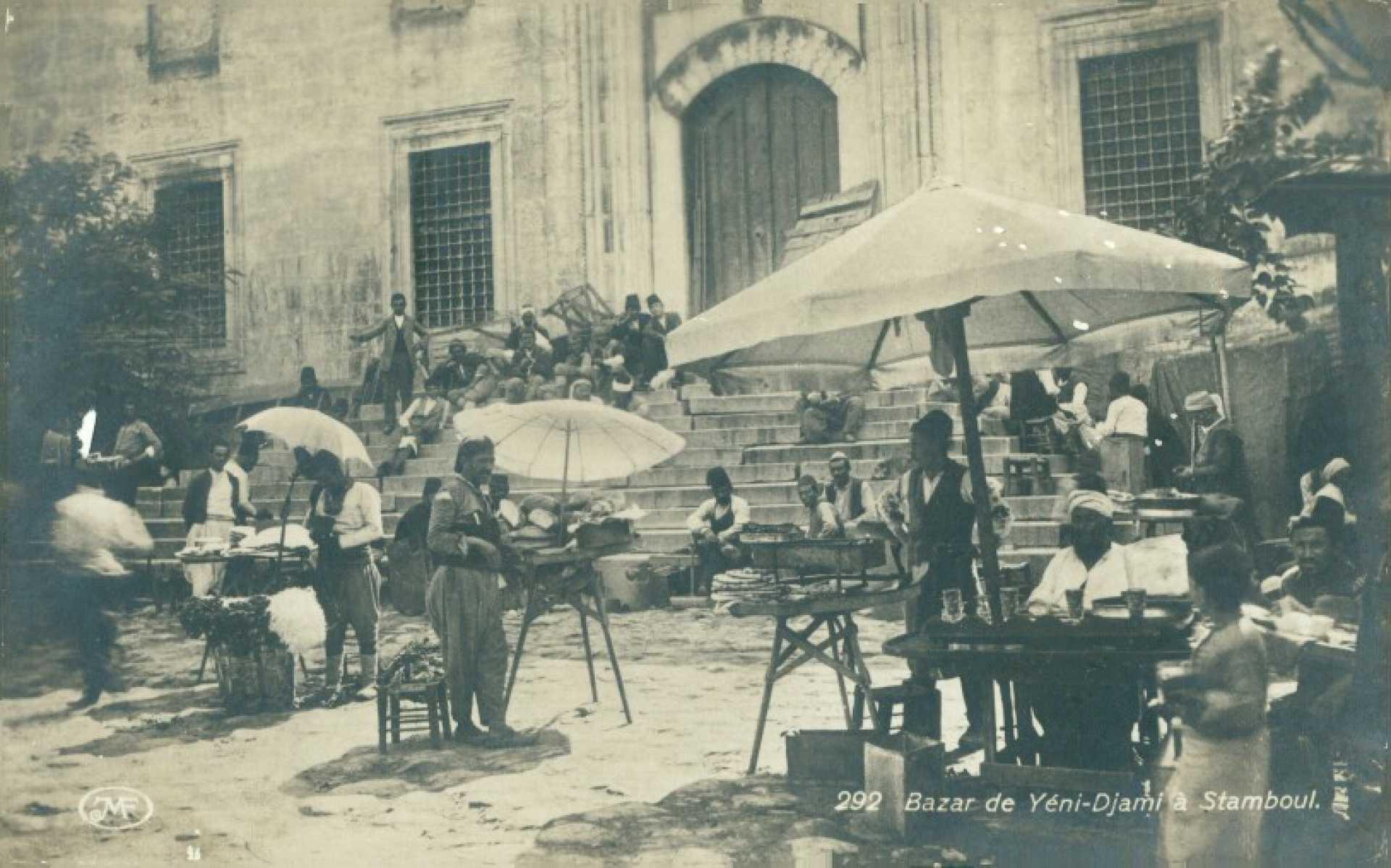 Bazar de Yeni-Djami a Stamboul