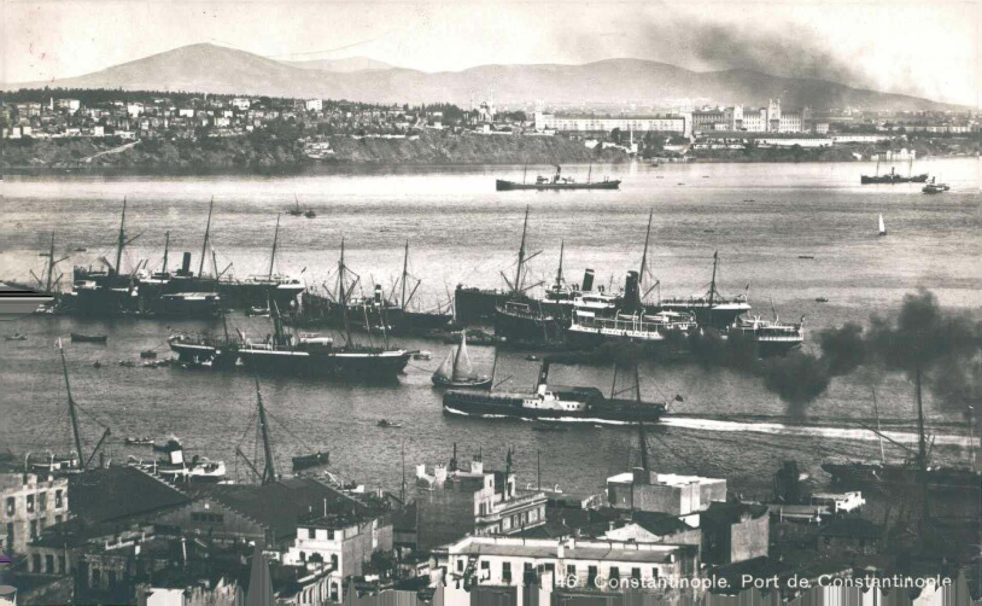 Constantinople. Port de Constantinople