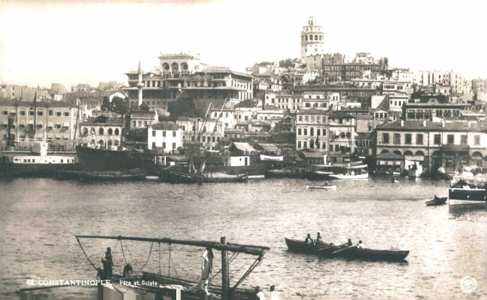 Constantinople. Pera et Galata