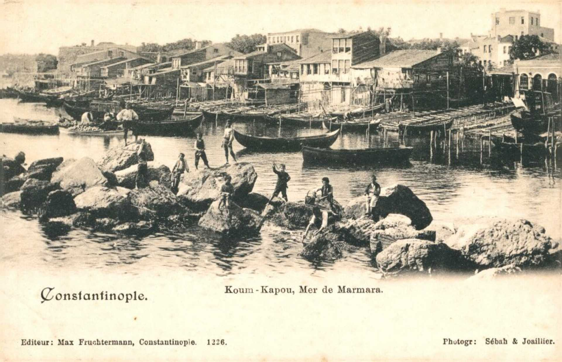 Koum-Kapou. Mer de Marmara. Constantinople