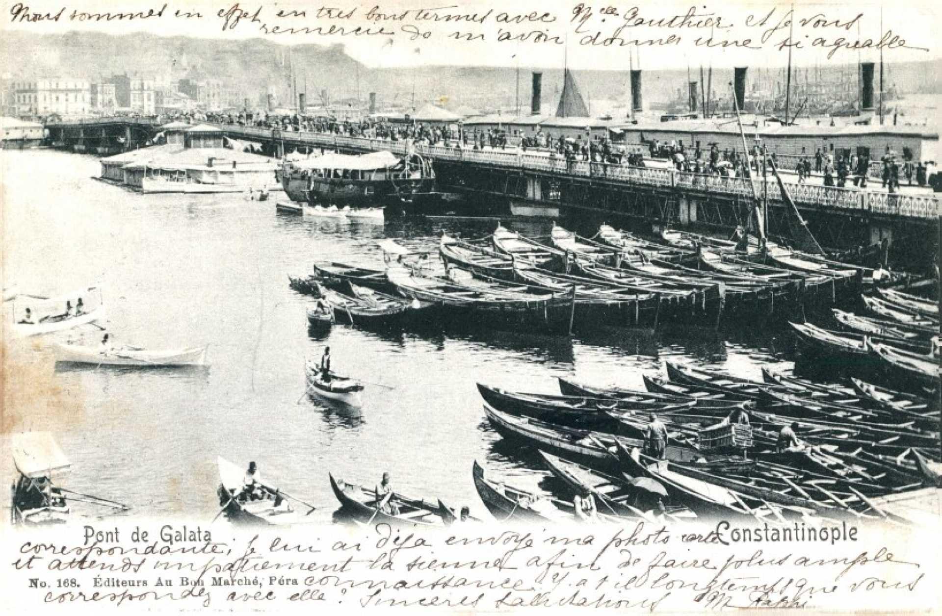 Pont de Galata. Constantinople