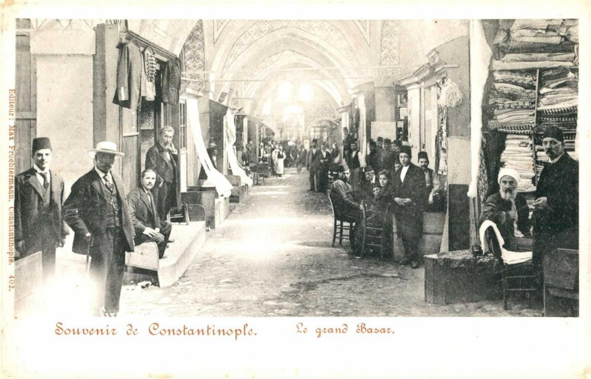 Le grand Bazar. Souvenir de Constantinople