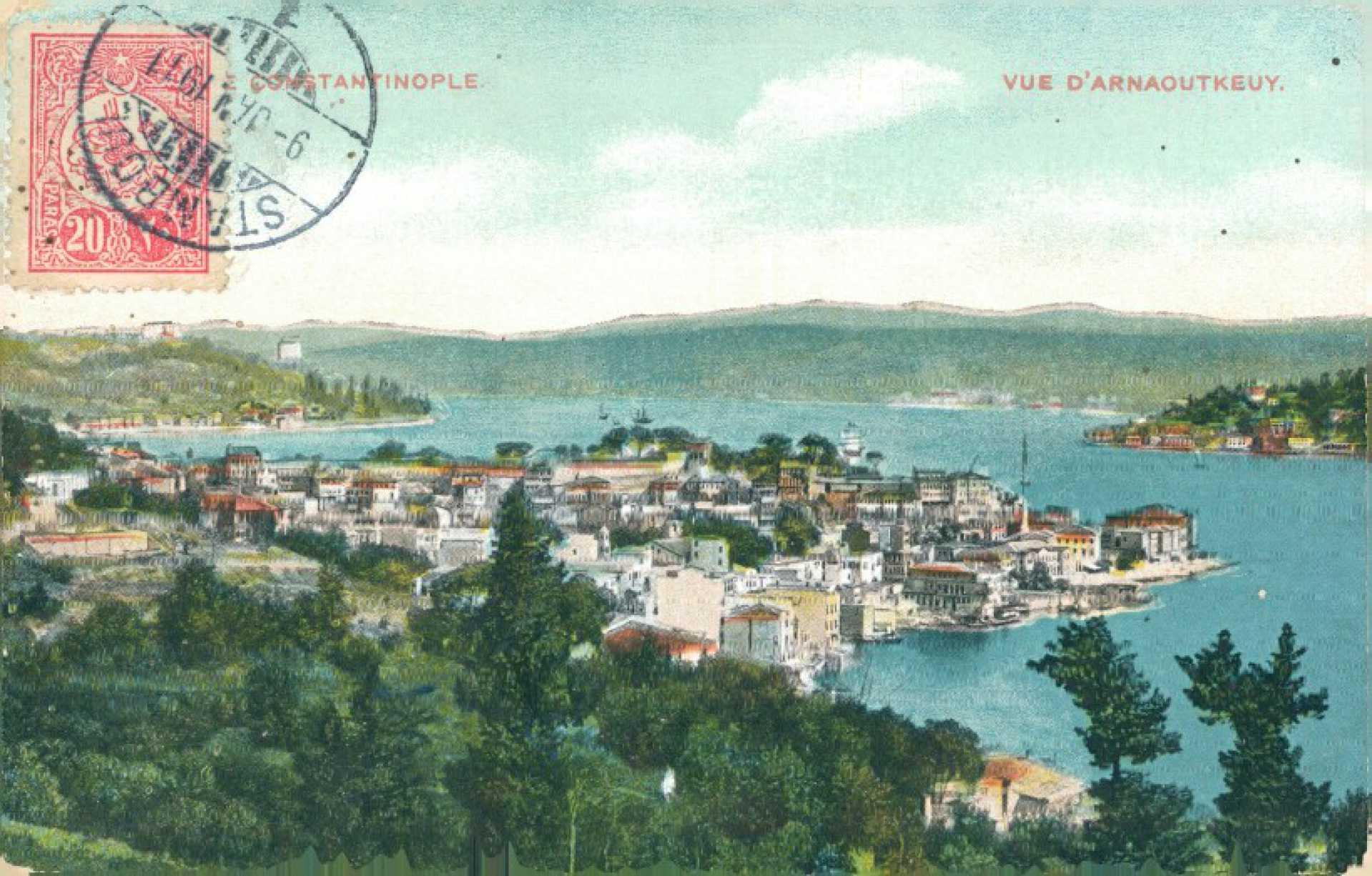 Constantinople. Vue d'Arnaoutkeuy