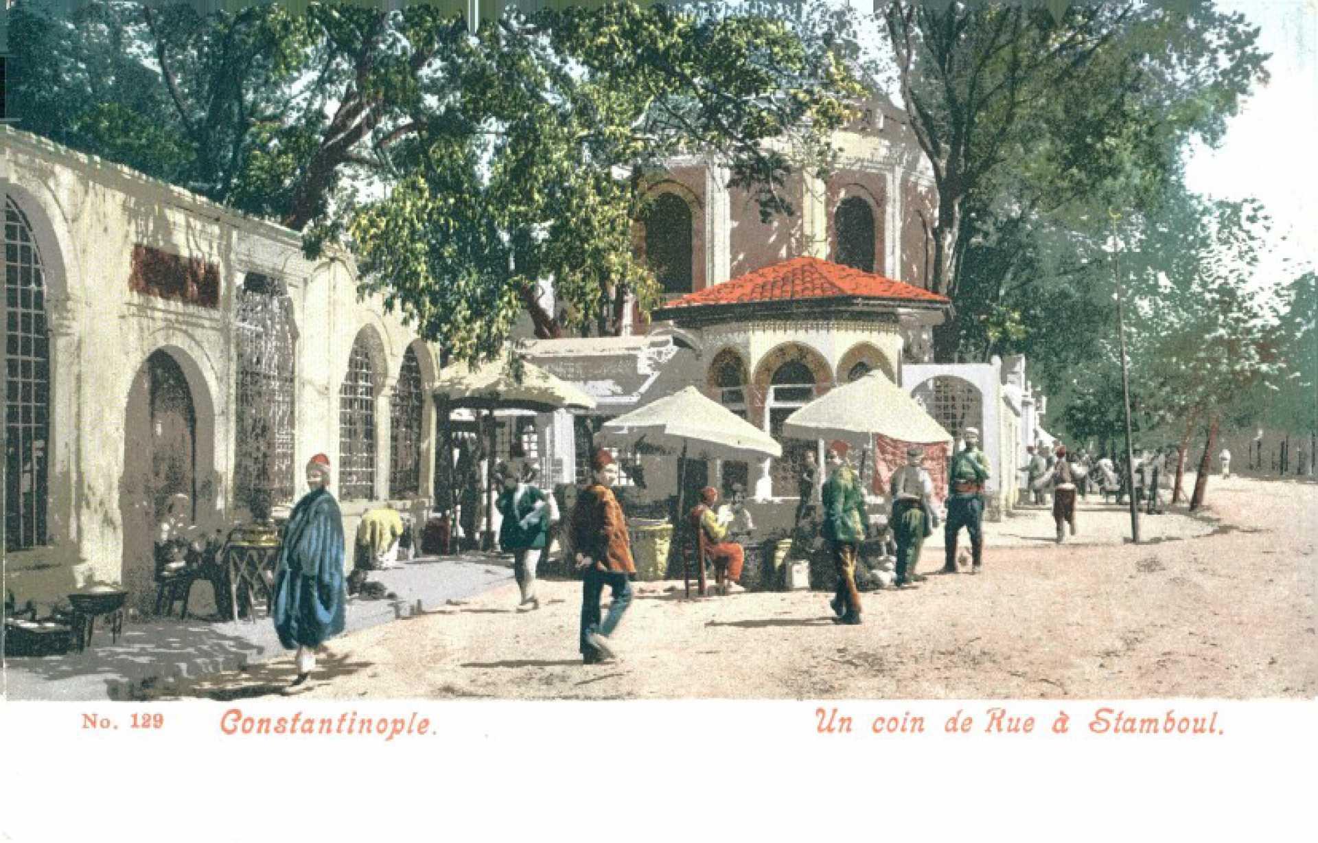 Un coin de Rue a Stamboul. Constantinople