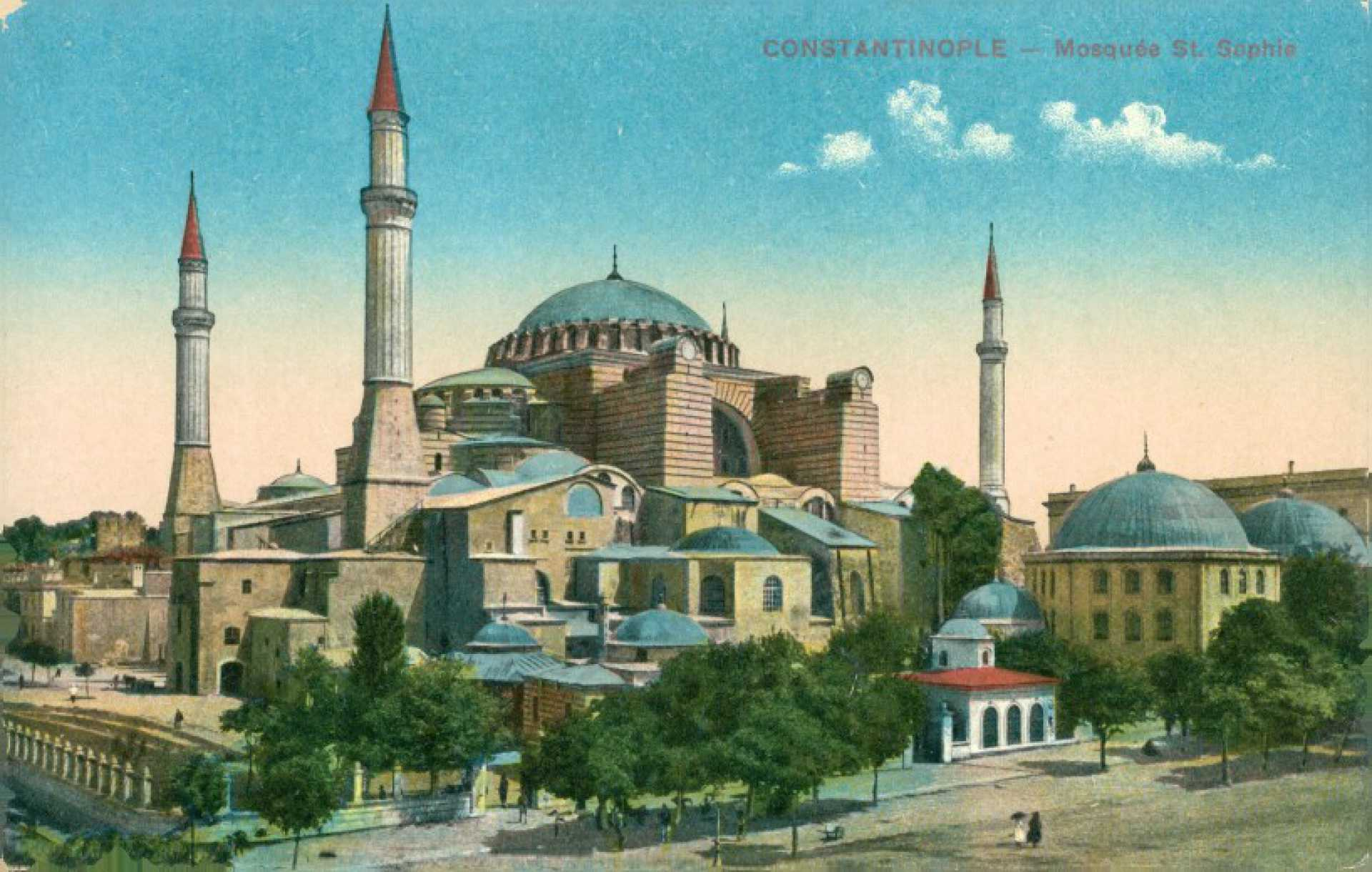 Constantinople – Mosquee St. Sophie