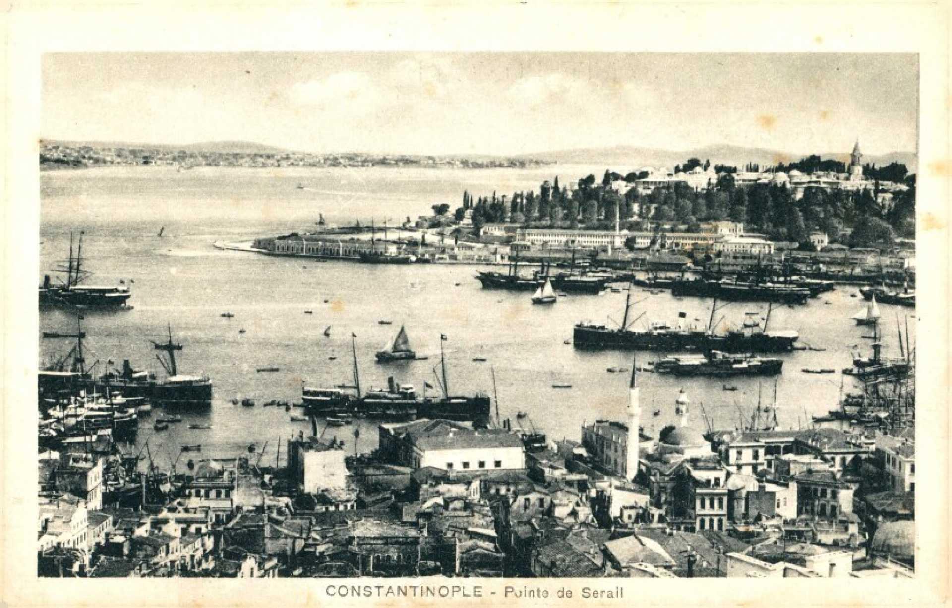 Constantinople- Pointe de Serail