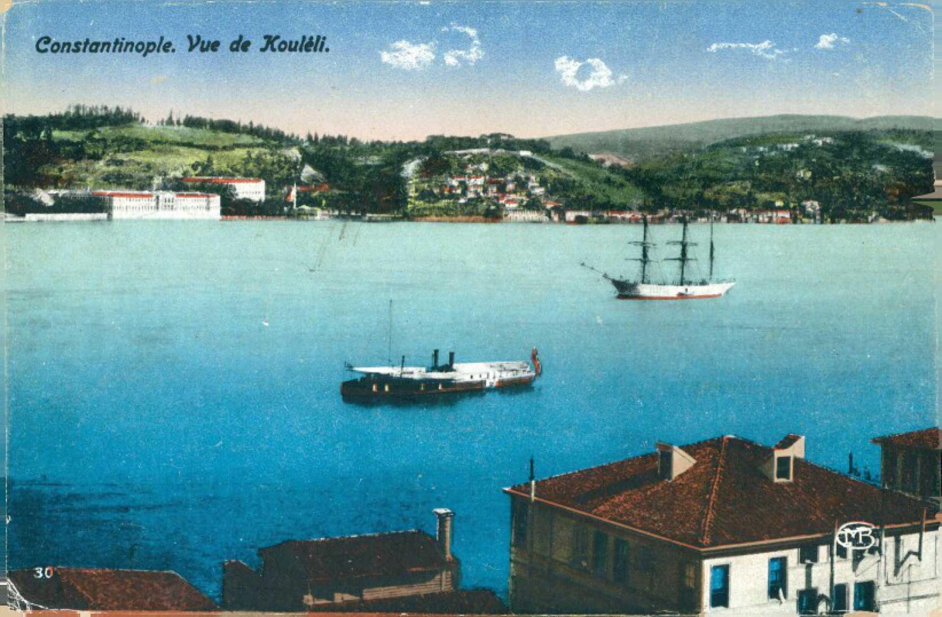Constantinople. Vue de Kouleli