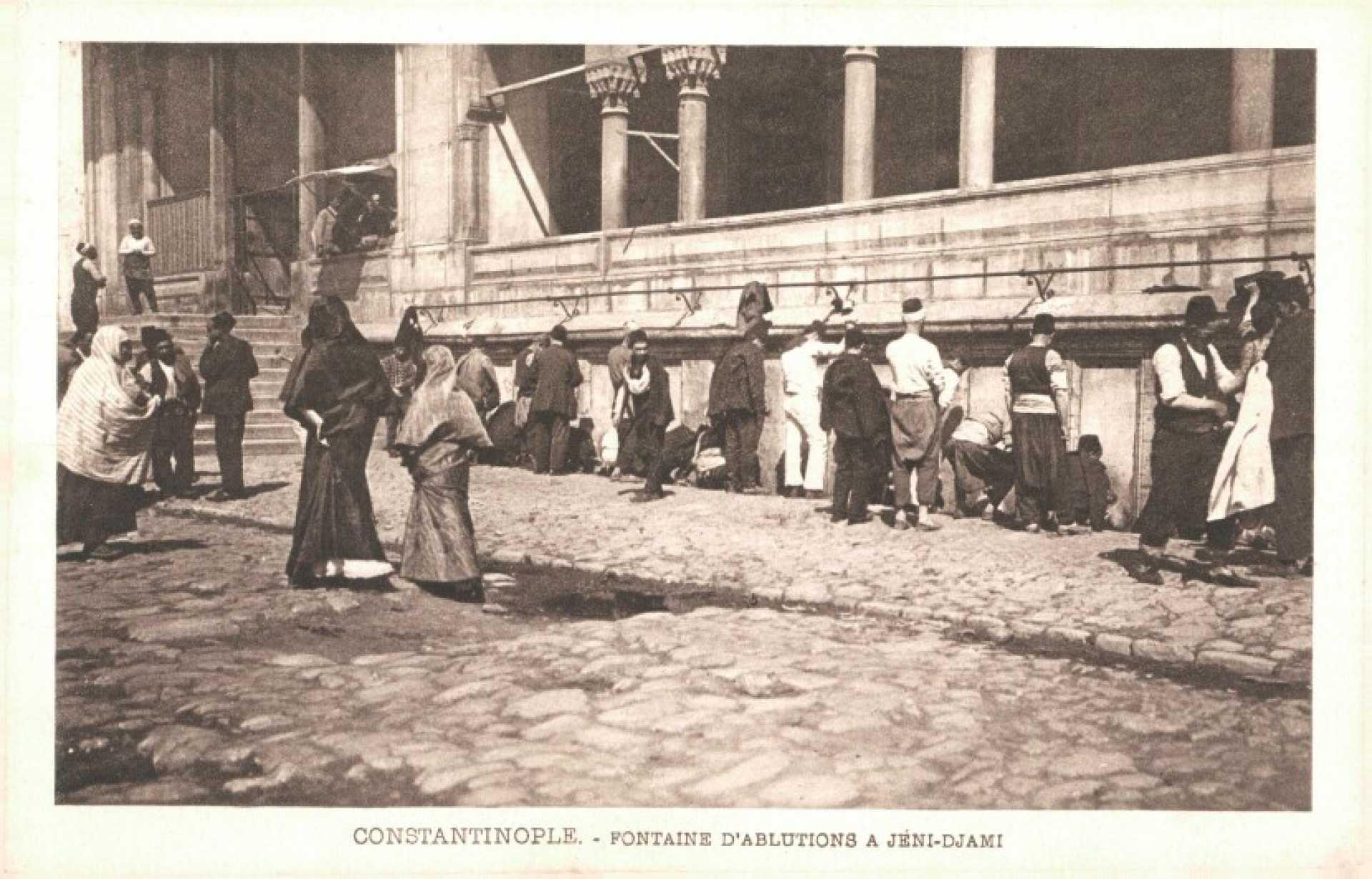 Constantinople – Fontaine D'Ablutions a Jeni-Djami