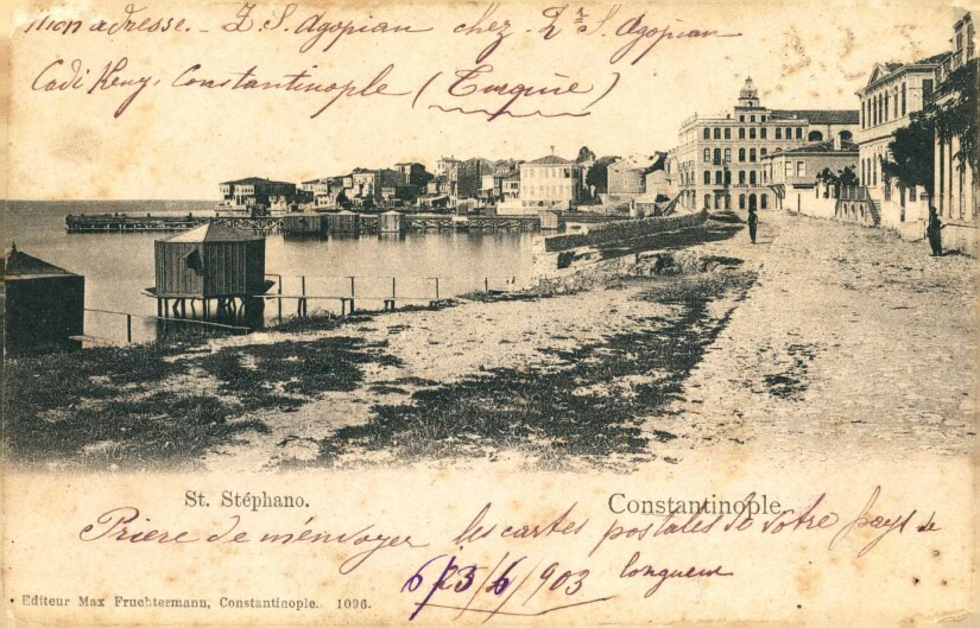 Constantinople. St. Stephano