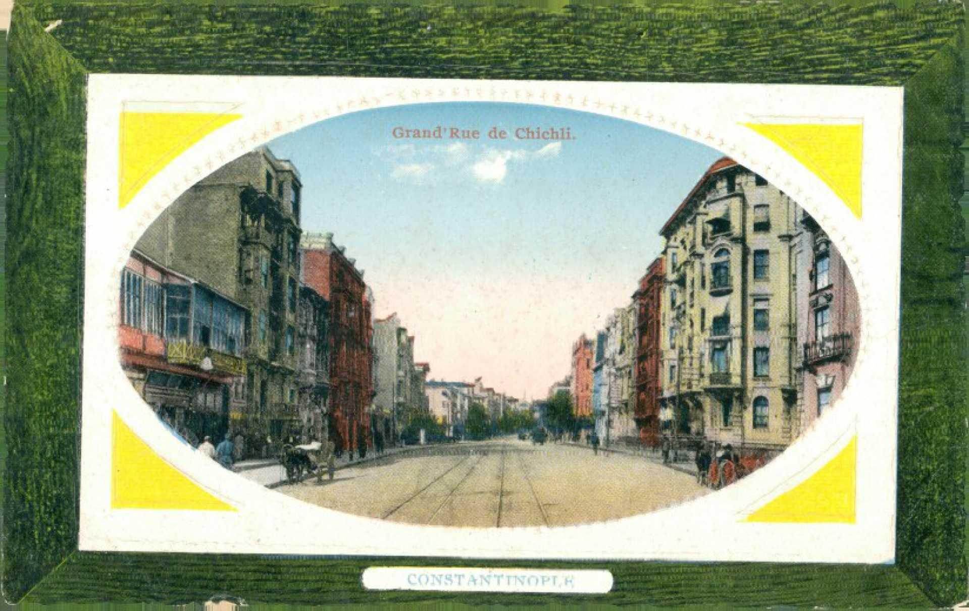 Grand rue de Chichli. Constantinople